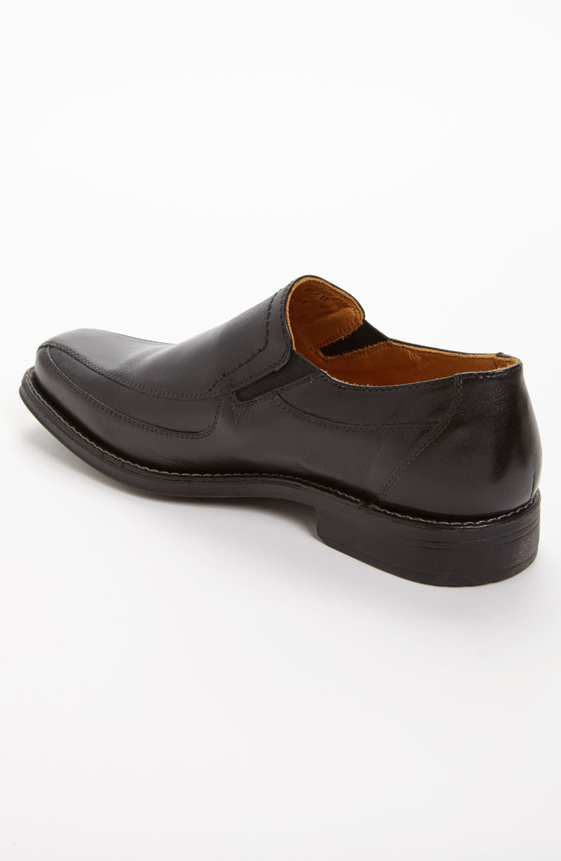 'Berwyn' Venetian Loafer,                             Alternate thumbnail 2, color,                             BLACK