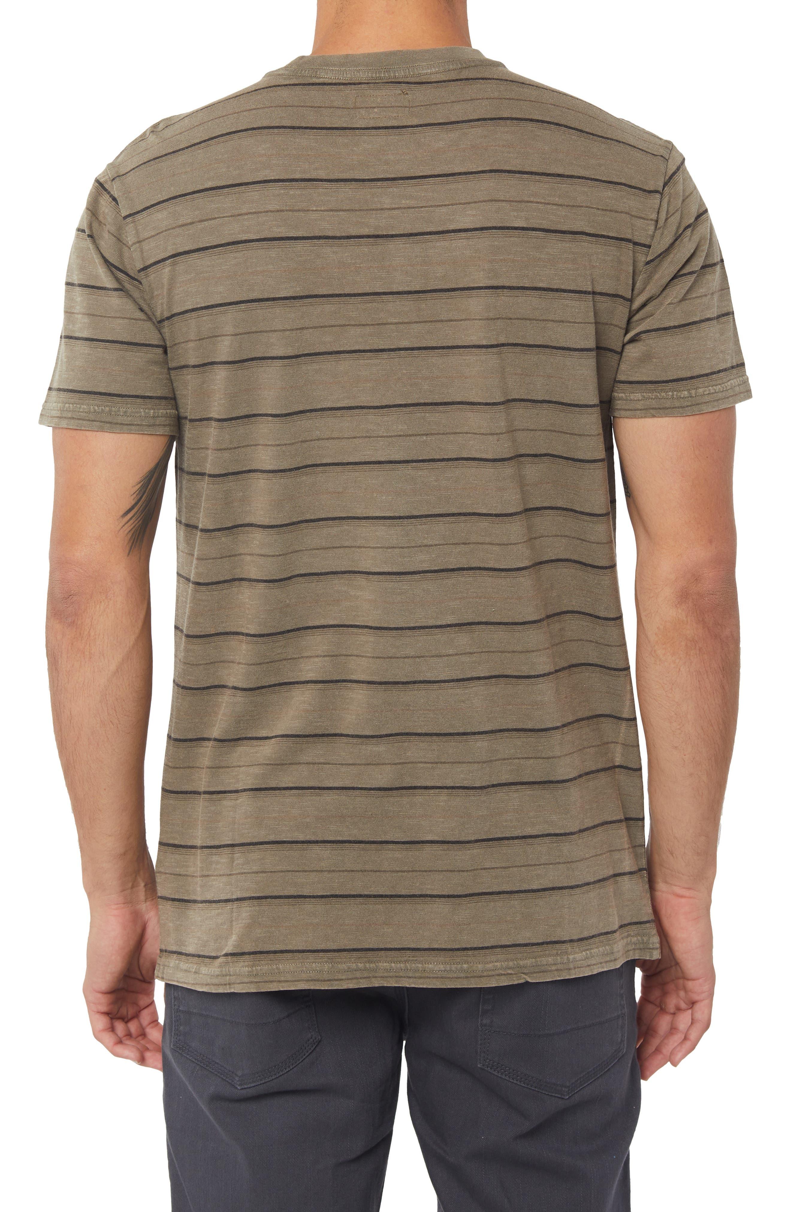 O'Neil Detroit Dinsmore Crew T-shirt,                             Alternate thumbnail 2, color,                             MILITARY