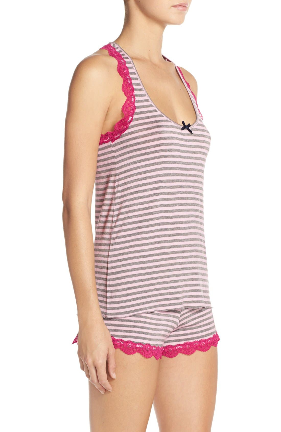 All Amercian Short Pajamas,                             Alternate thumbnail 96, color,