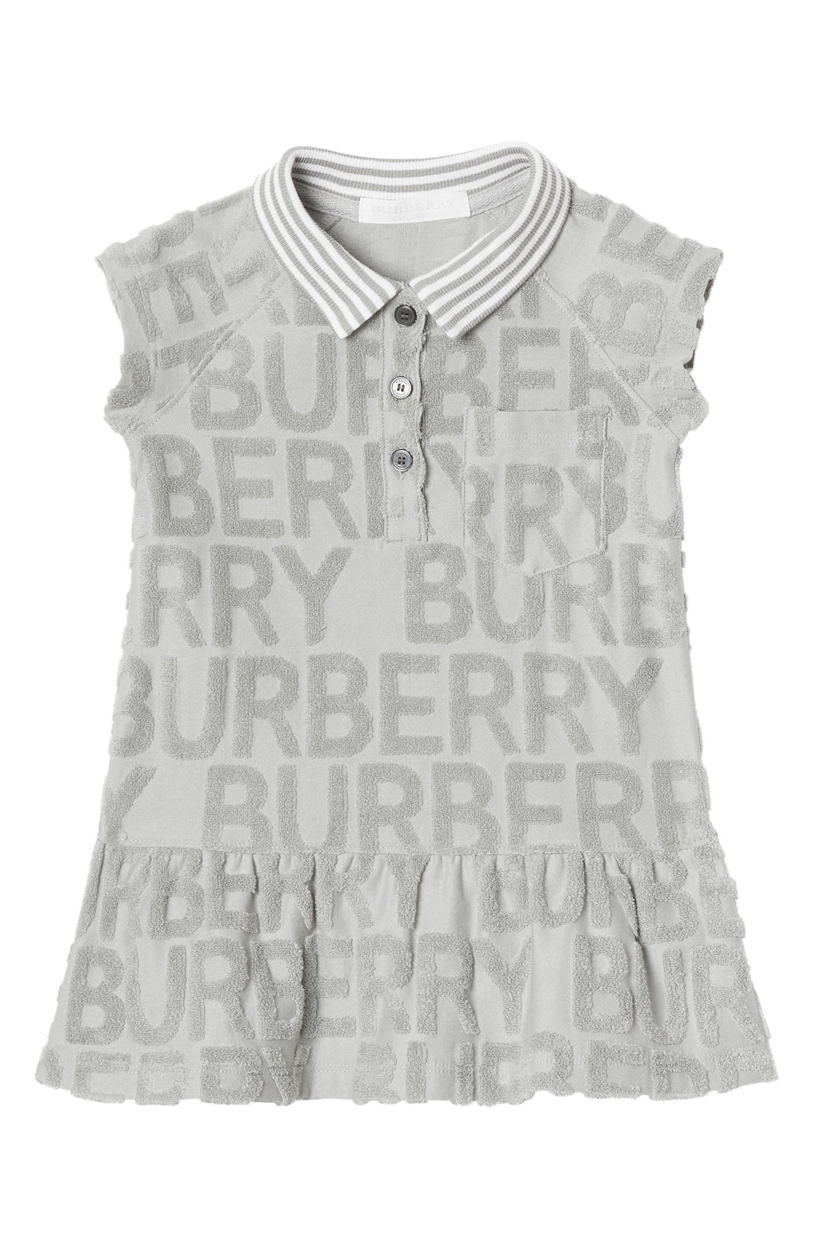 1a4ad8a9eade Burberry Brigitta Knit Polo Dress (Baby)
