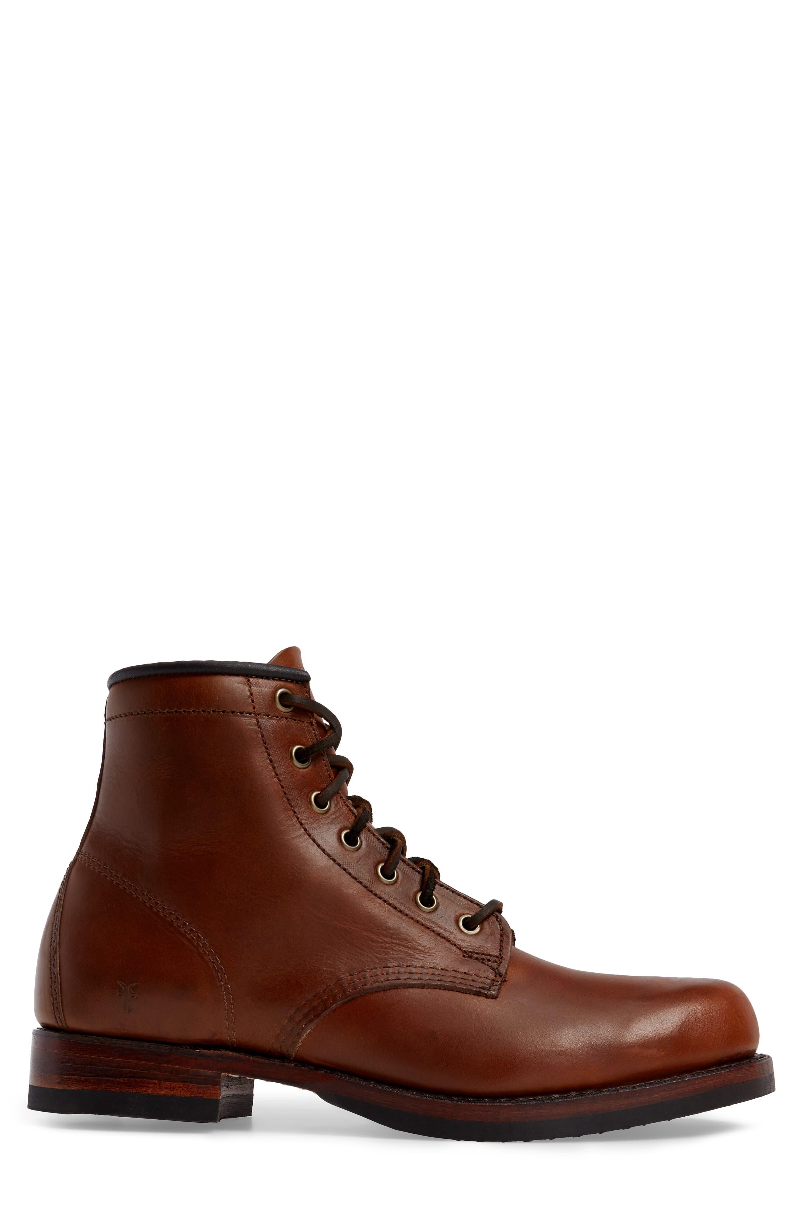 John Addison Plain Toe Boot,                             Alternate thumbnail 3, color,                             218
