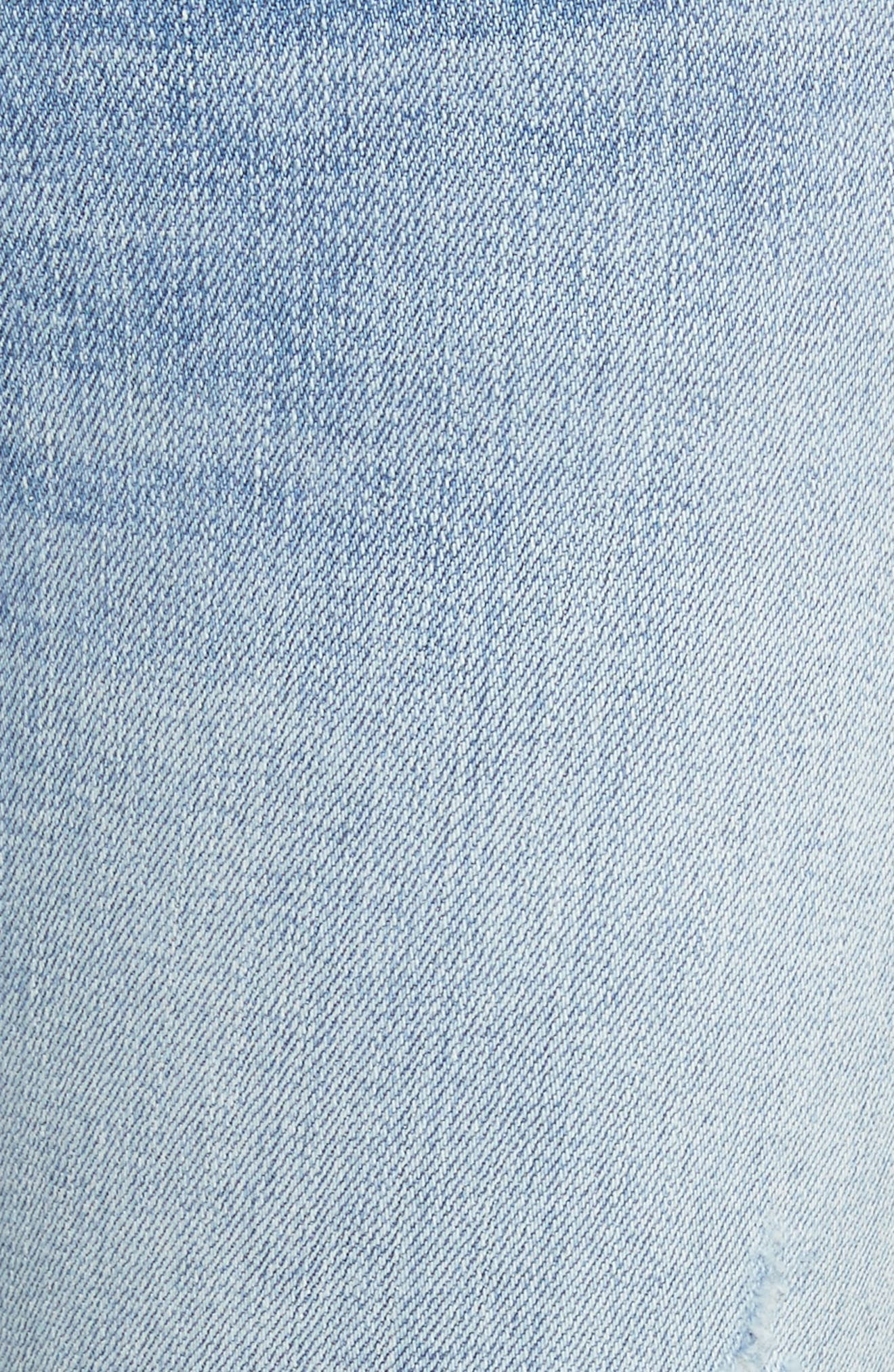 Ankle Skinny Jeans,                             Alternate thumbnail 6, color,                             450