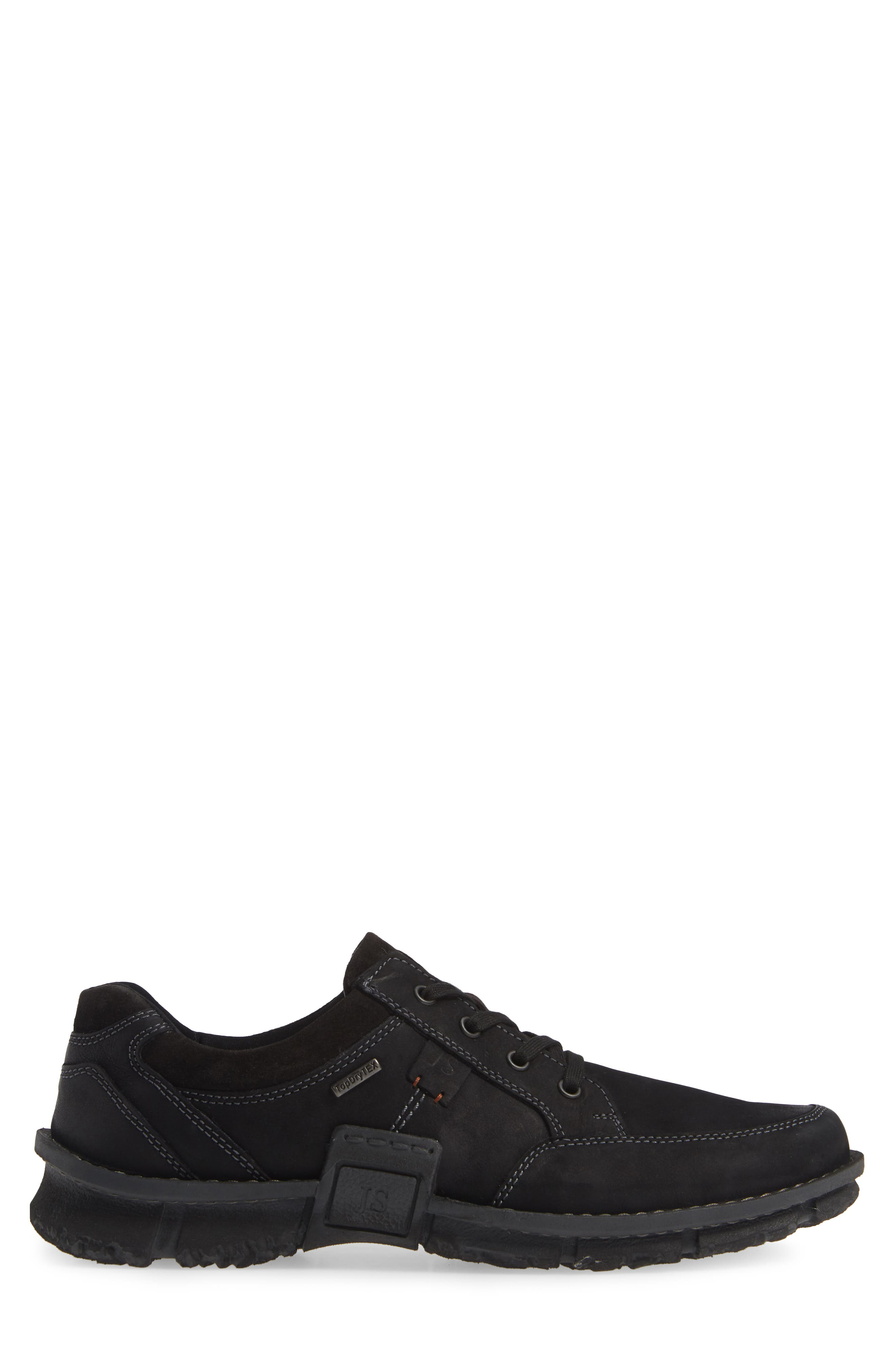 JOSEF SEIBEL,                             Willow 33 Sneaker,                             Alternate thumbnail 3, color,                             BLACK LEATHER