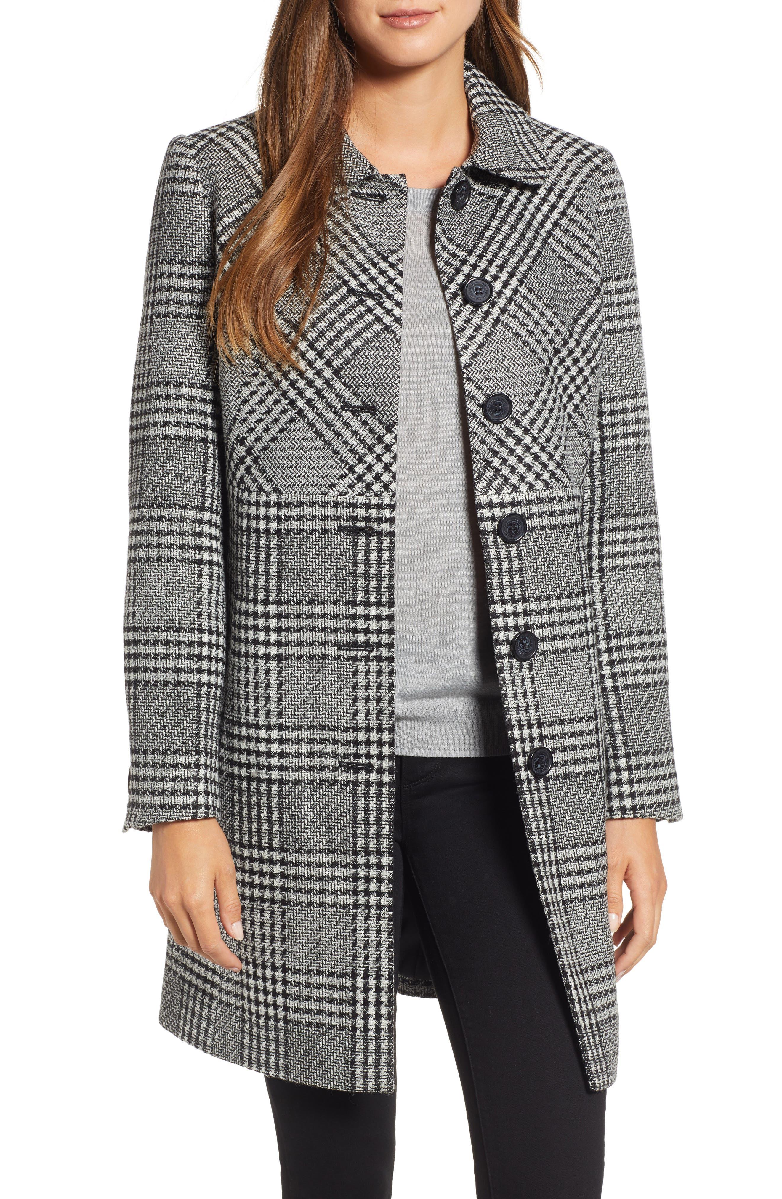 Tweed Topper Coat, Main, color, 006