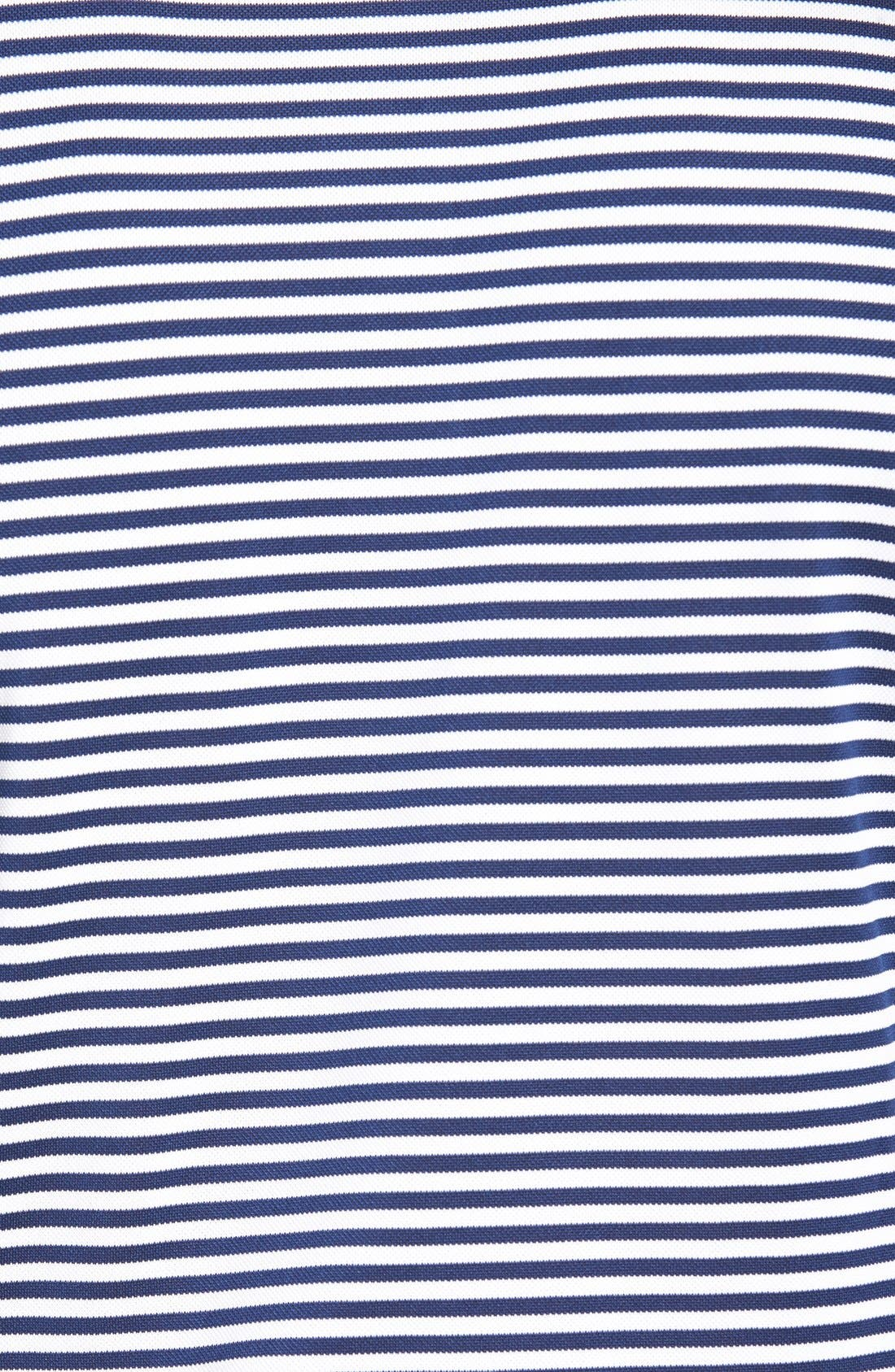 XH2O Feed Stripe Stretch Golf Polo,                             Alternate thumbnail 87, color,