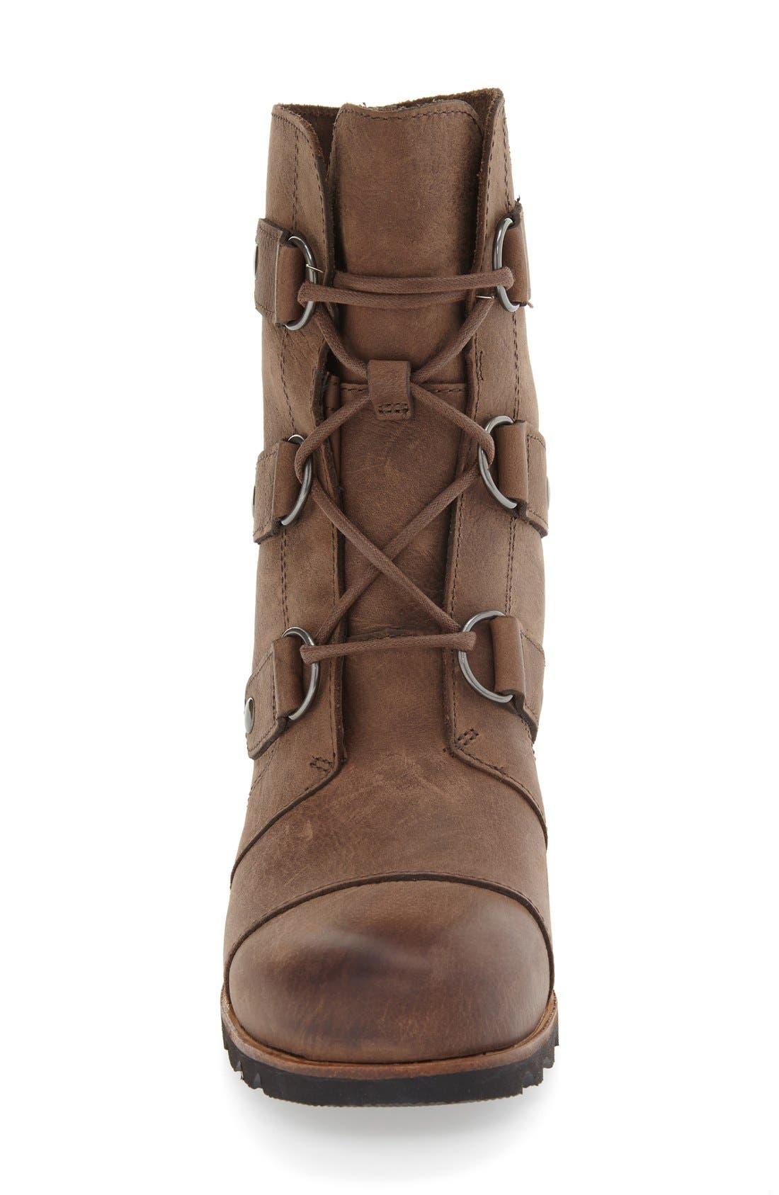 'Joan of Arctic' Waterproof Wedge Boot,                             Alternate thumbnail 17, color,