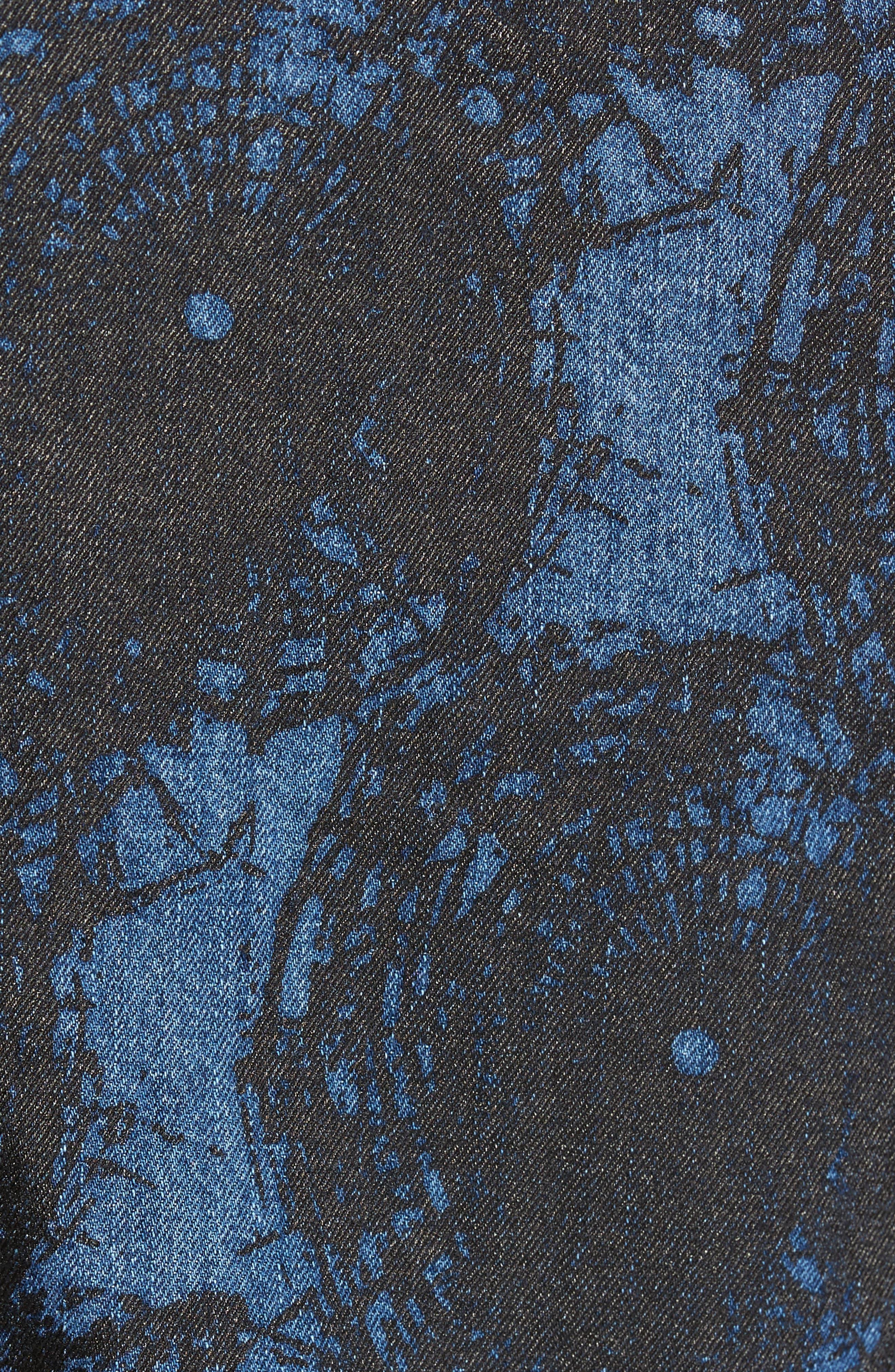 Shattered Denim Jacket,                             Alternate thumbnail 6, color,                             002