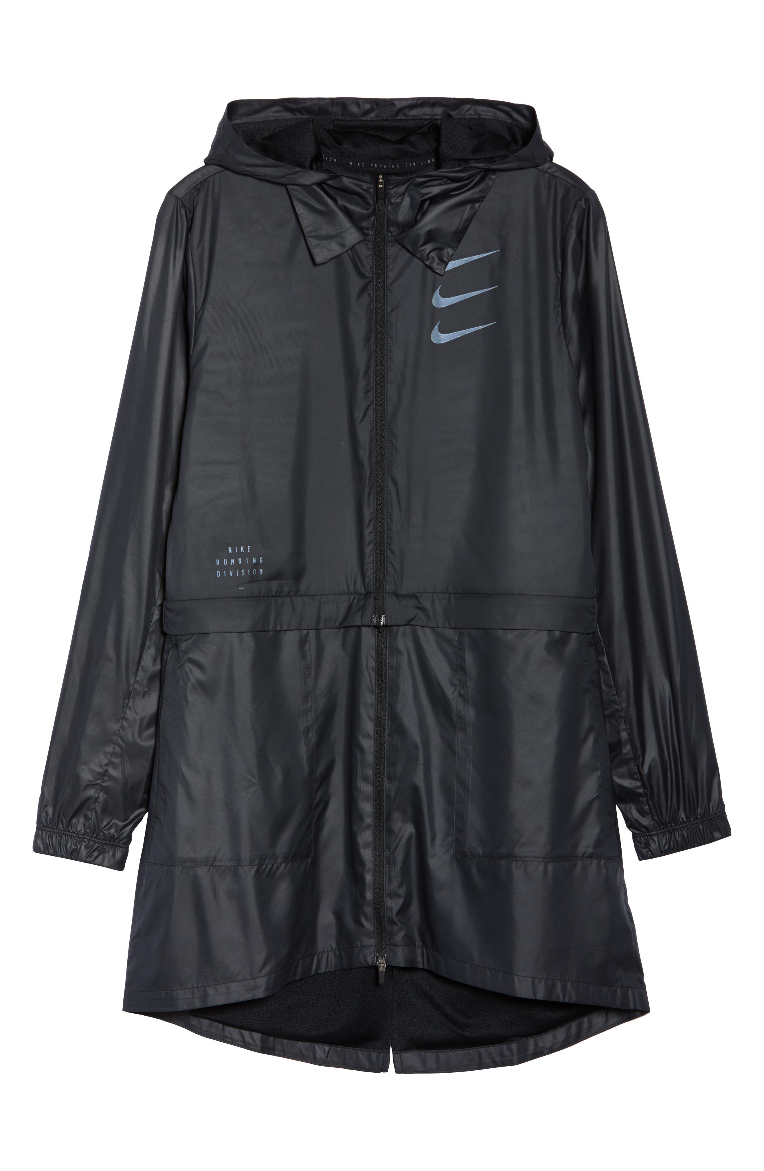 Women's Convertible Hooded Running Jacket,                             Alternate thumbnail 7, color,                             010