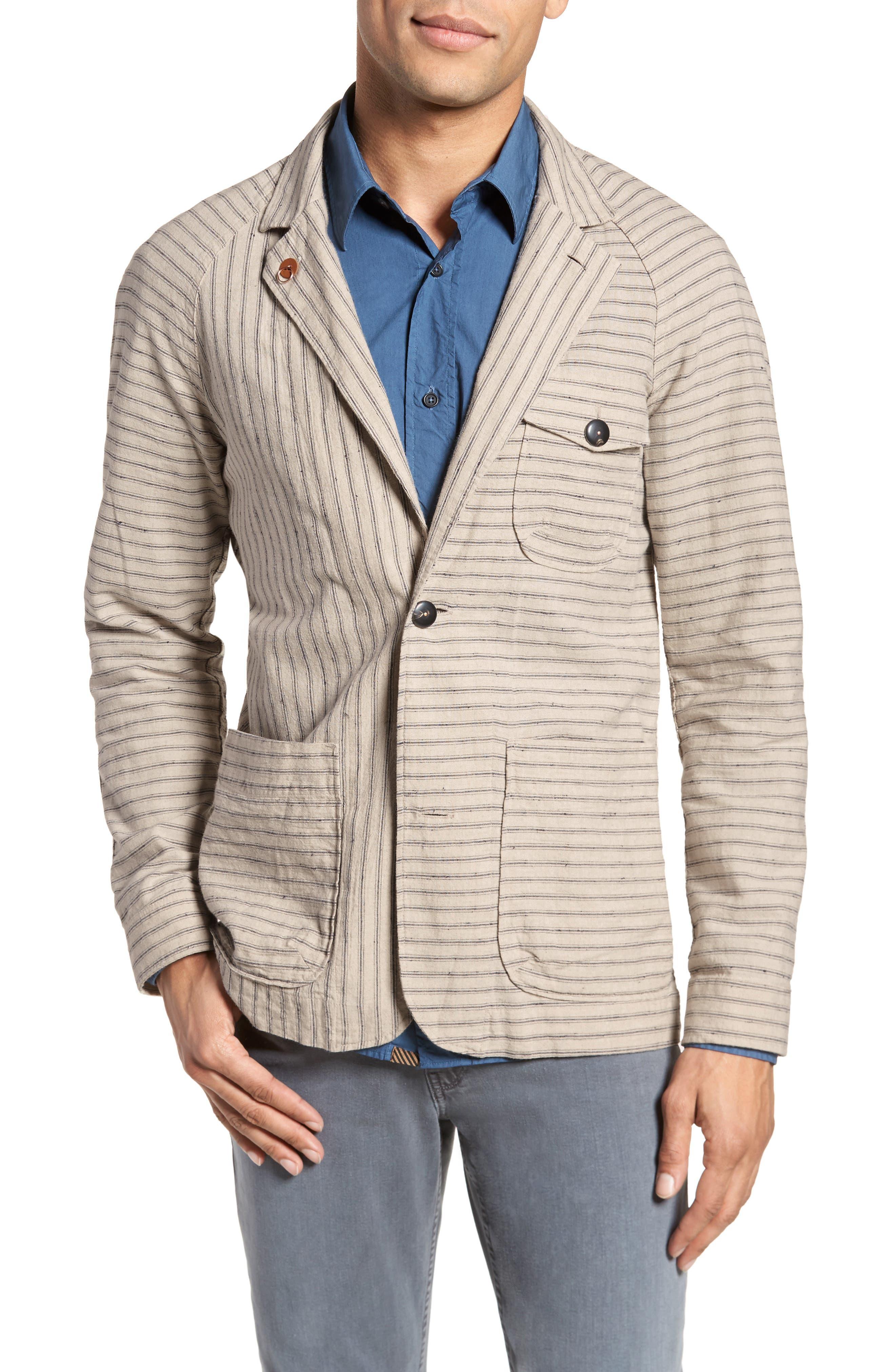 Harrison Linen & Cotton Jacket,                         Main,                         color, 274
