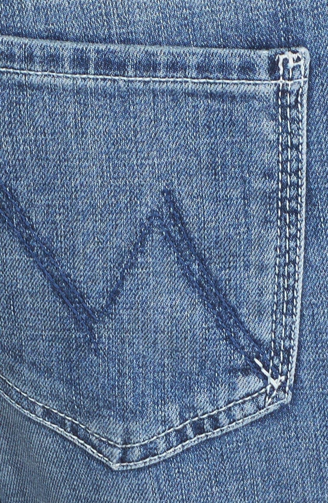 MOTHER,                             'The Dropout' Crop Boyfriend Jeans,                             Alternate thumbnail 3, color,                             400