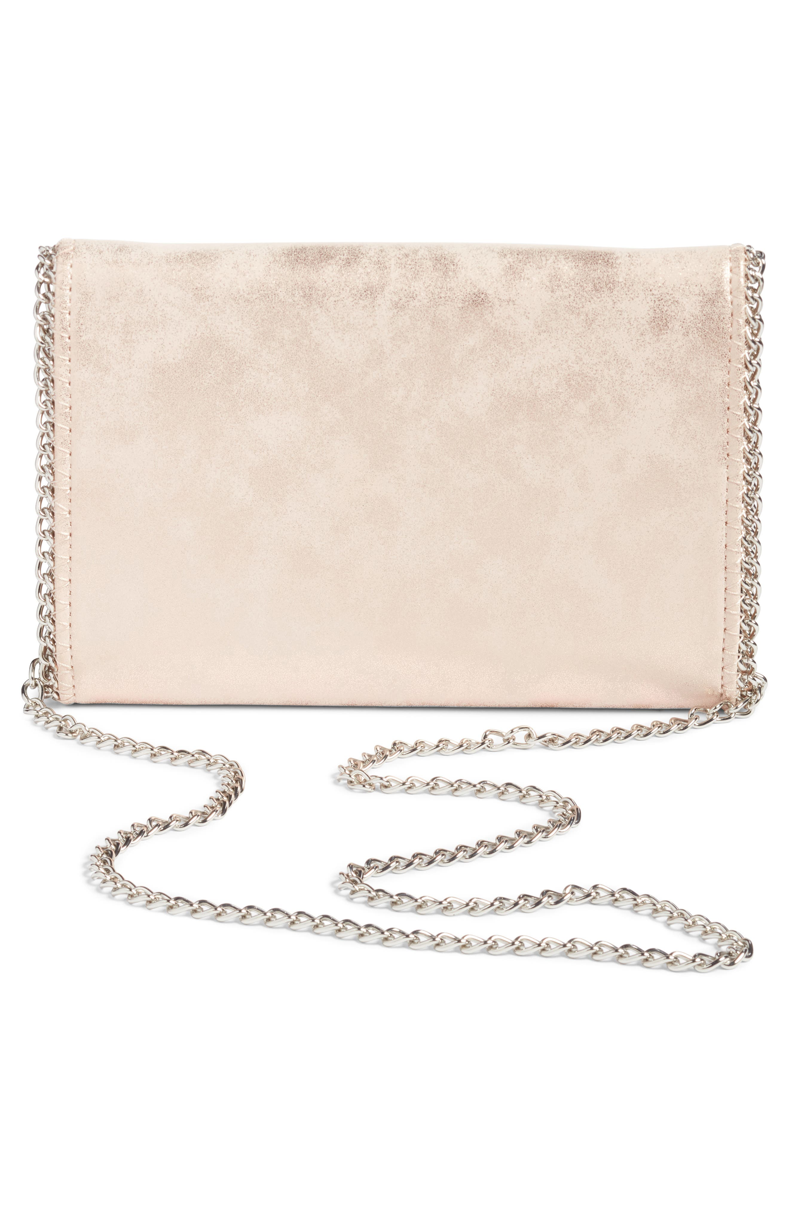 Faux Leather Crossbody Clutch,                             Alternate thumbnail 12, color,