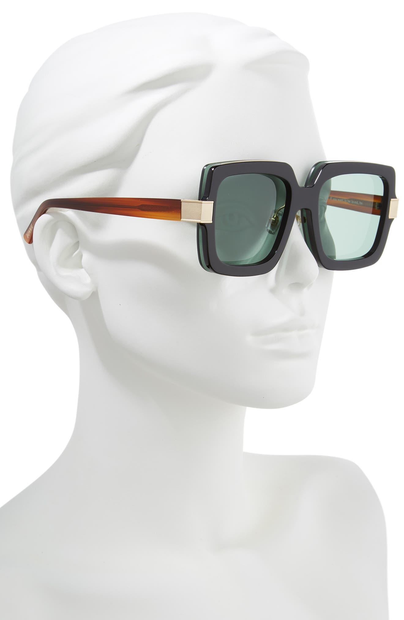Mancuso 54mm Sunglasses,                             Alternate thumbnail 2, color,                             001