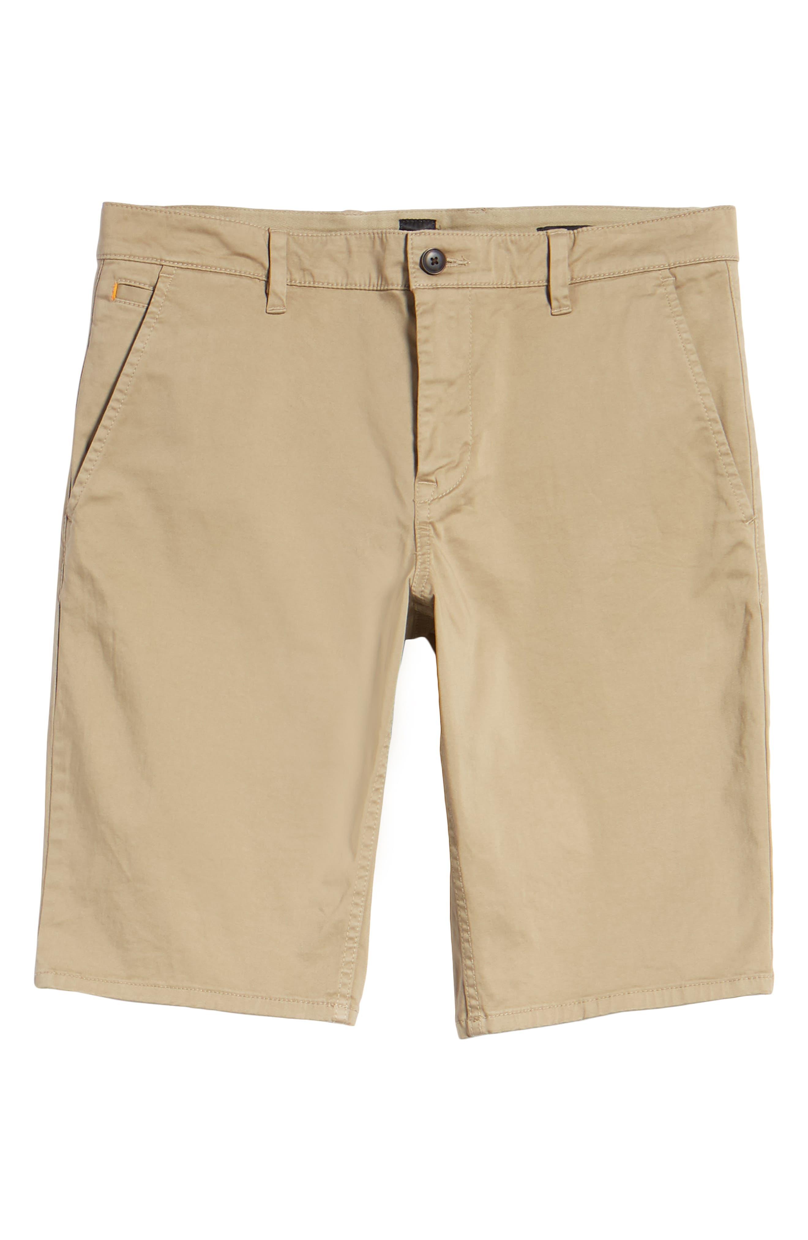 Slim Fit Shorts,                             Alternate thumbnail 6, color,                             200