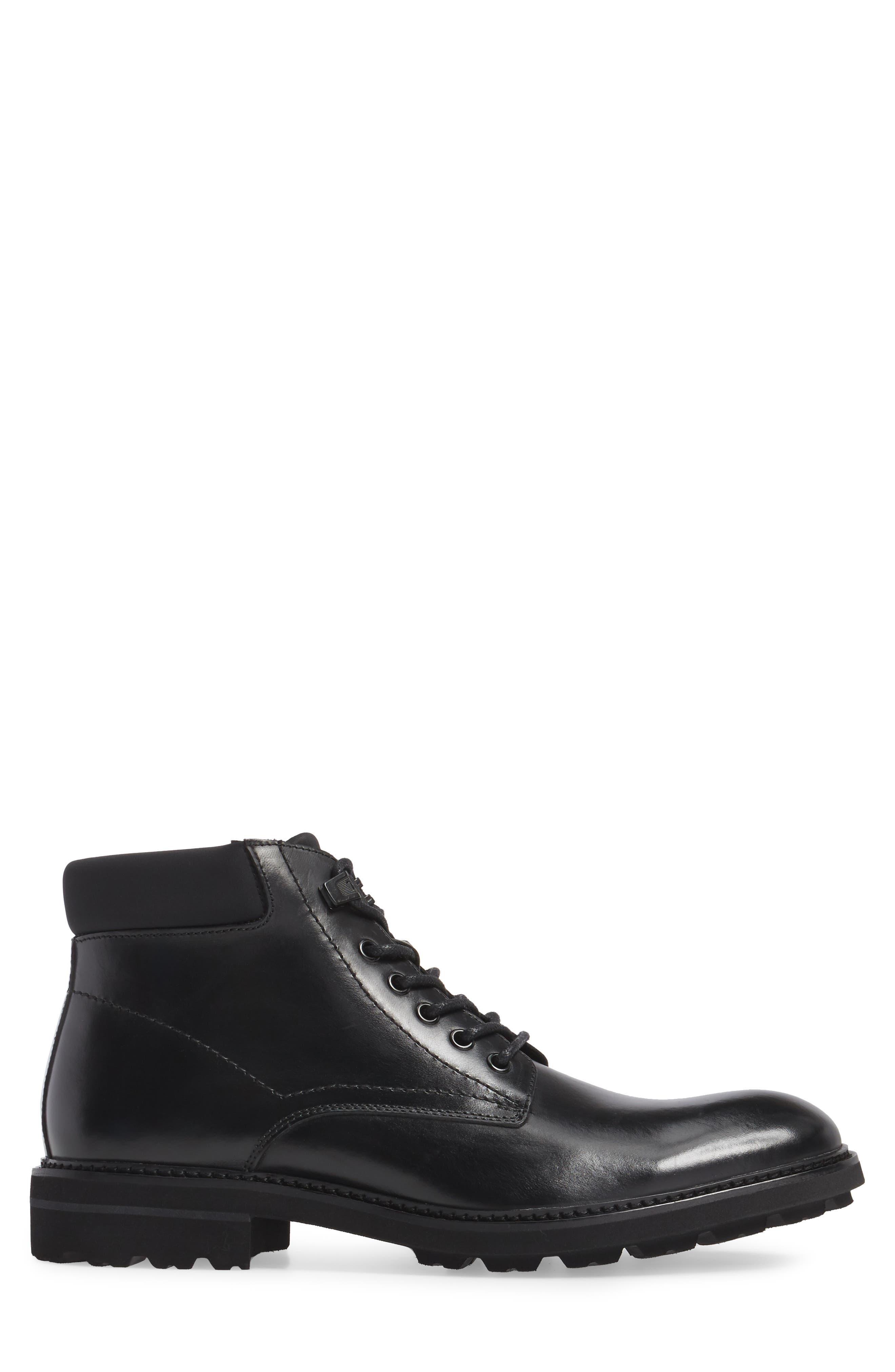 Plain Toe Boot,                             Alternate thumbnail 3, color,                             001