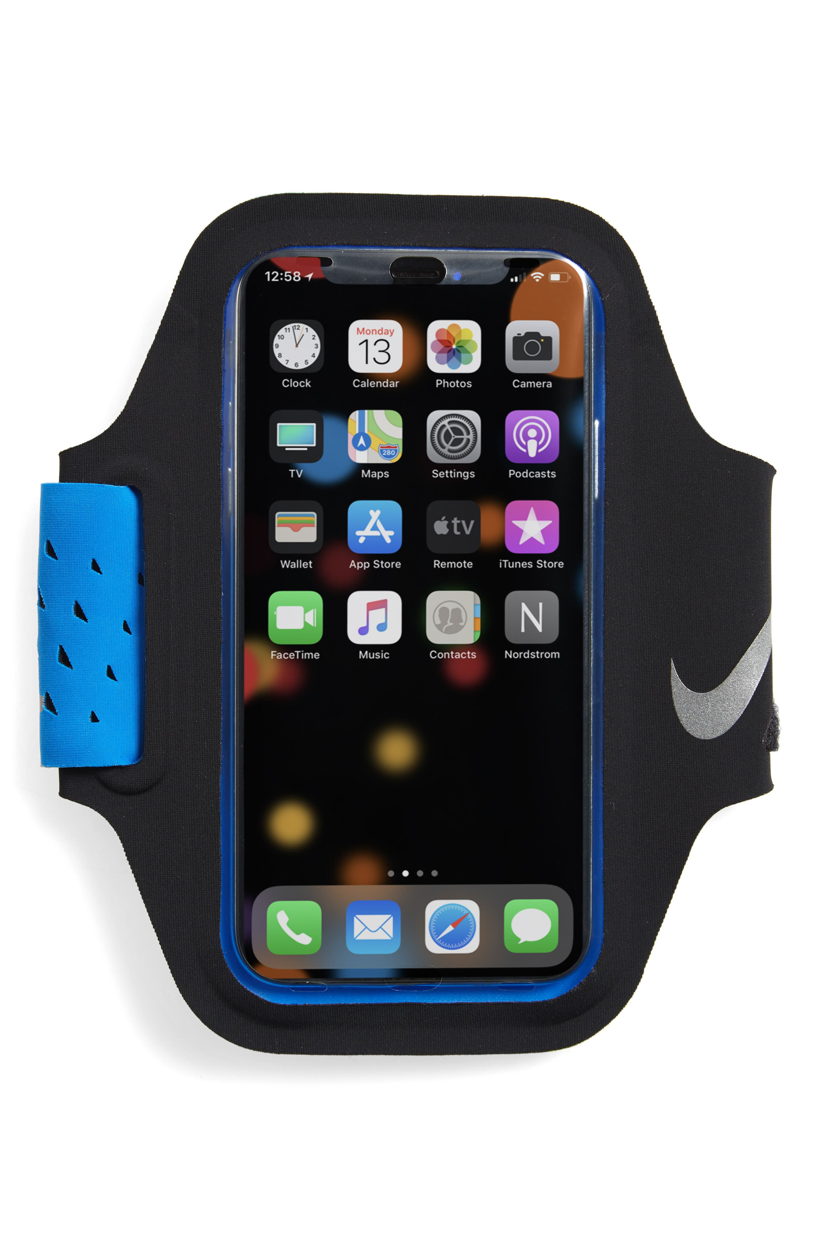 Vent iPhone X Arm Band,                             Main thumbnail 1, color,                             003