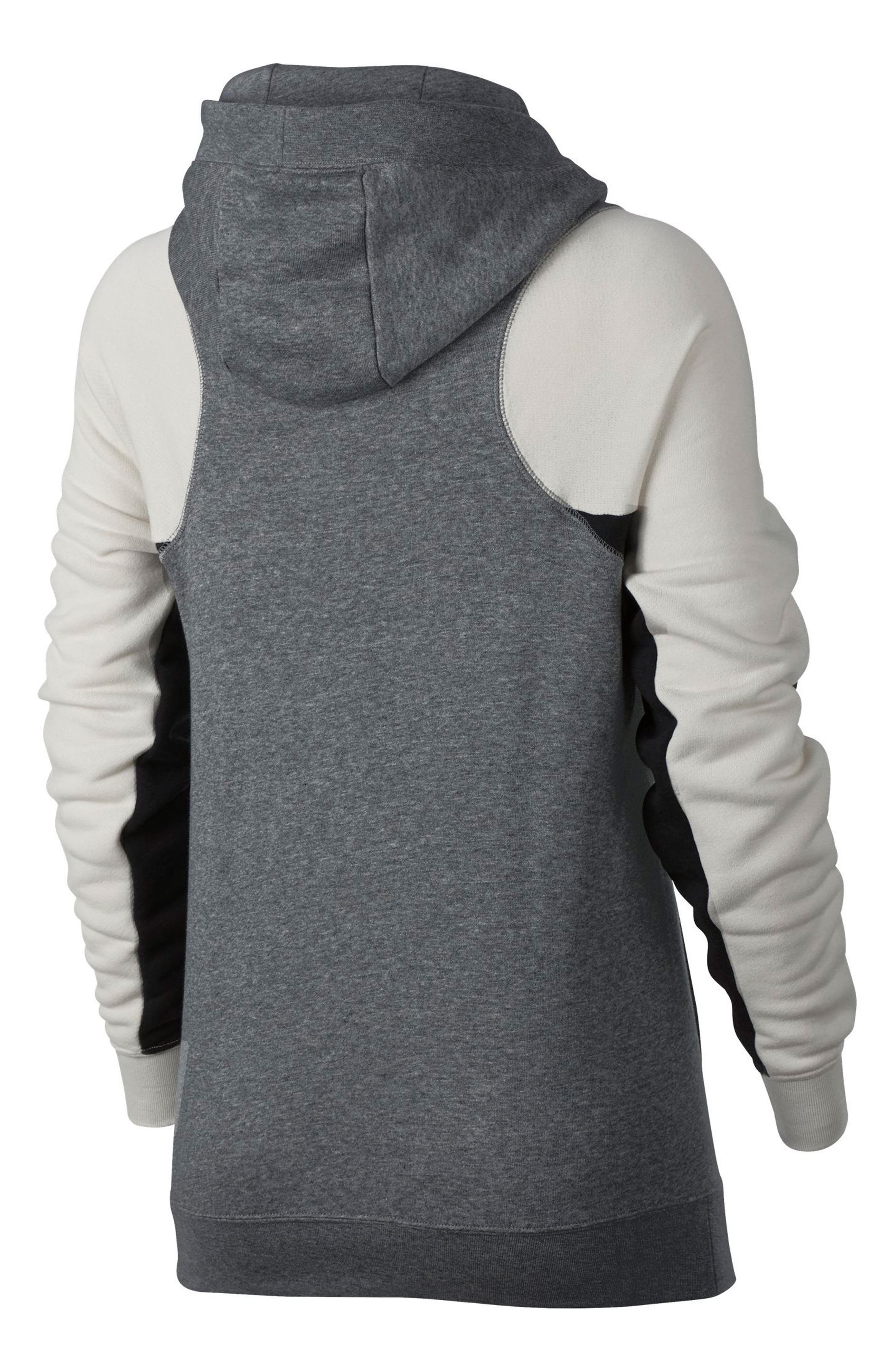 Women's Modern Pullover Hoodie,                             Alternate thumbnail 6, color,                             091