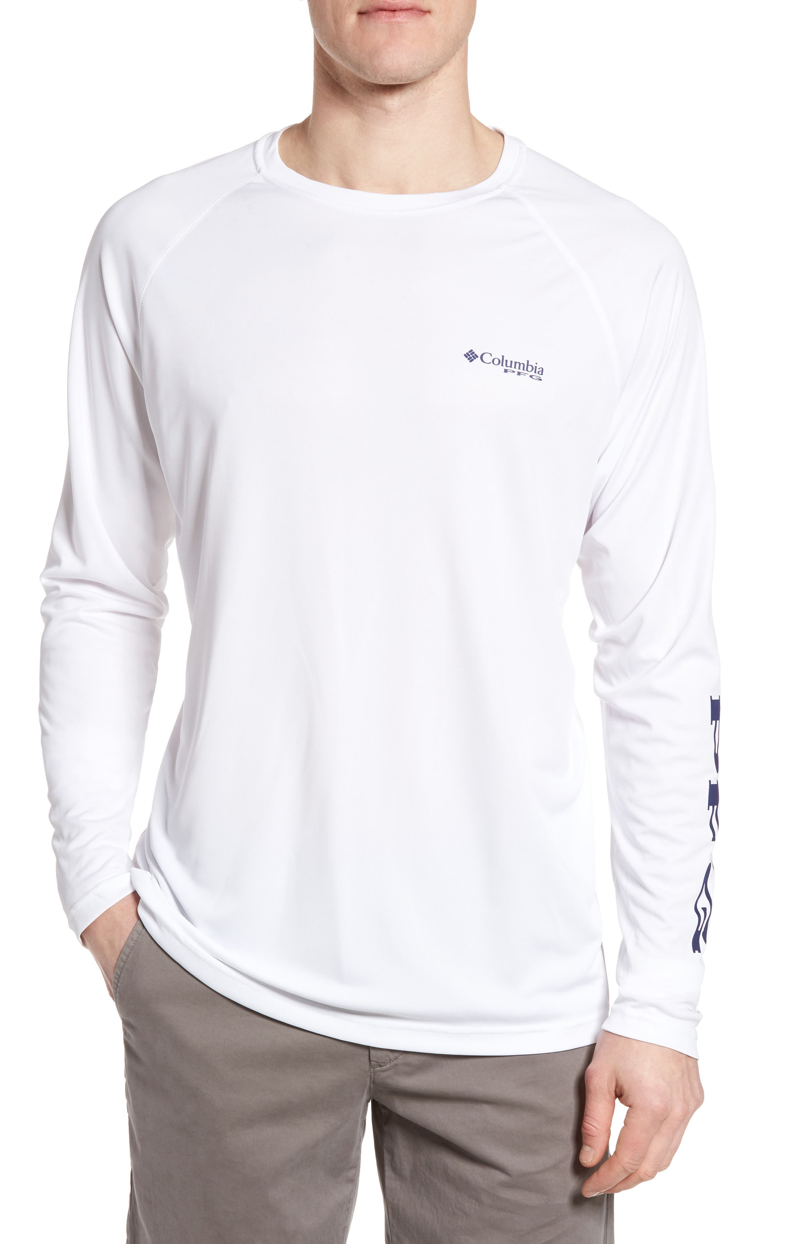 Columbia T-shirts PFG TERMINAL TACKLE PERFORMANCE LONG SLEEVE T-SHIRT