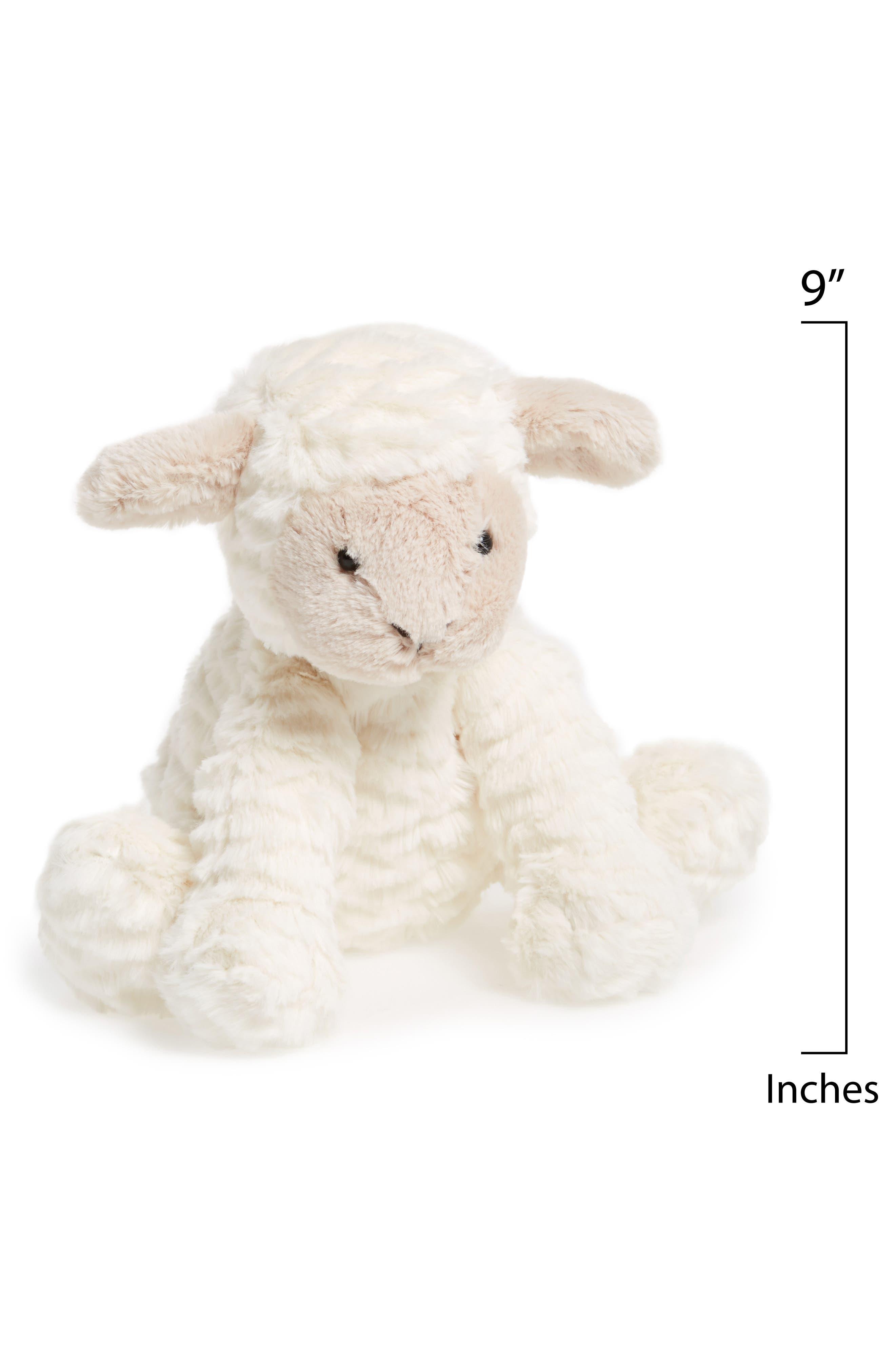 'Fuddlewuddle Lamb' Stuffed Animal,                             Alternate thumbnail 2, color,                             CREAM