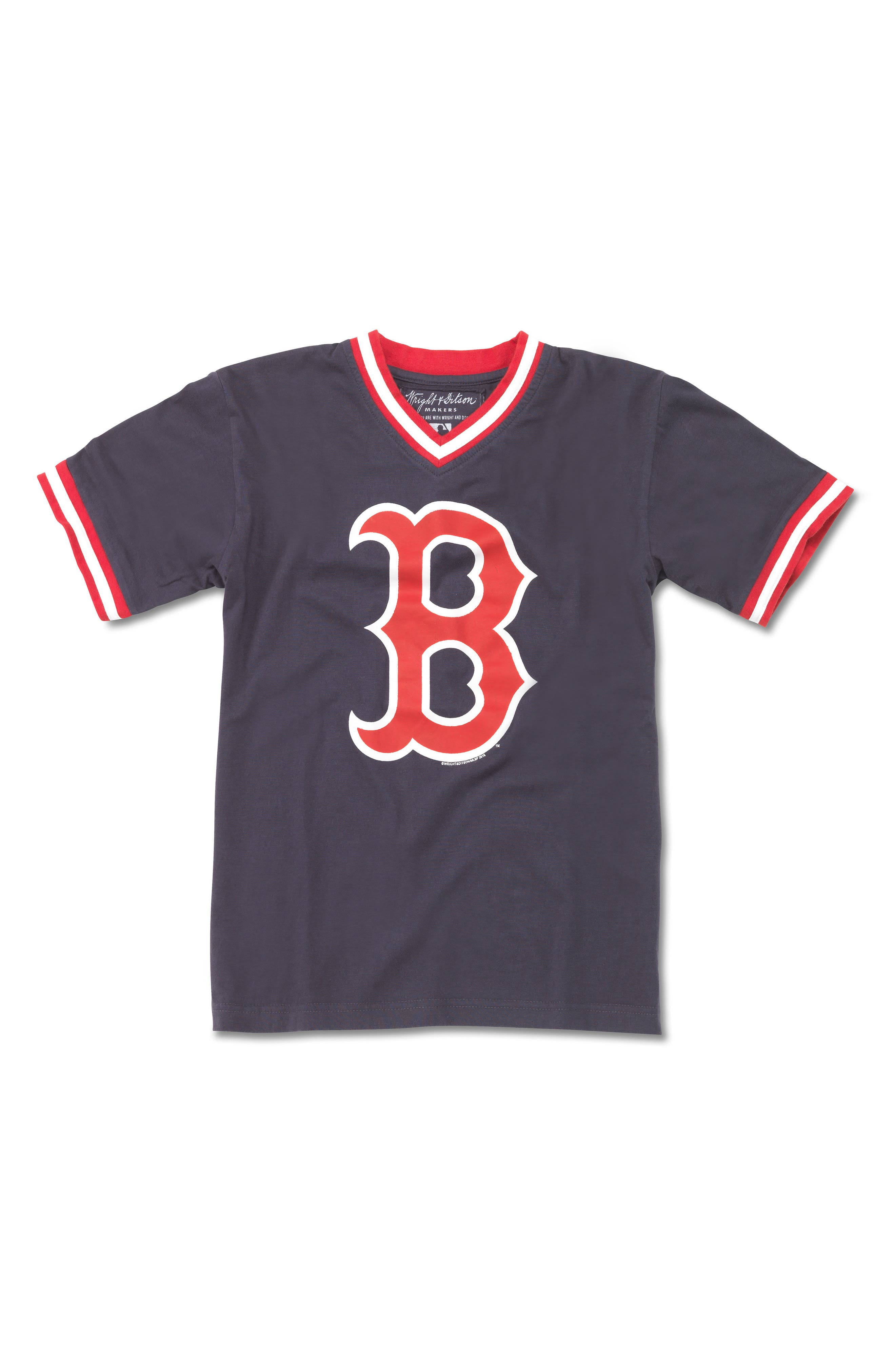 Boston Red Sox T-Shirt,                             Main thumbnail 1, color,                             410