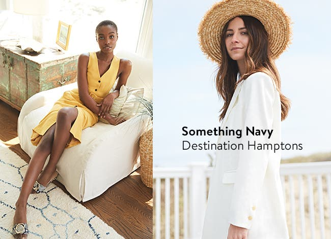 New from Something Navy: Destination Hamptons.