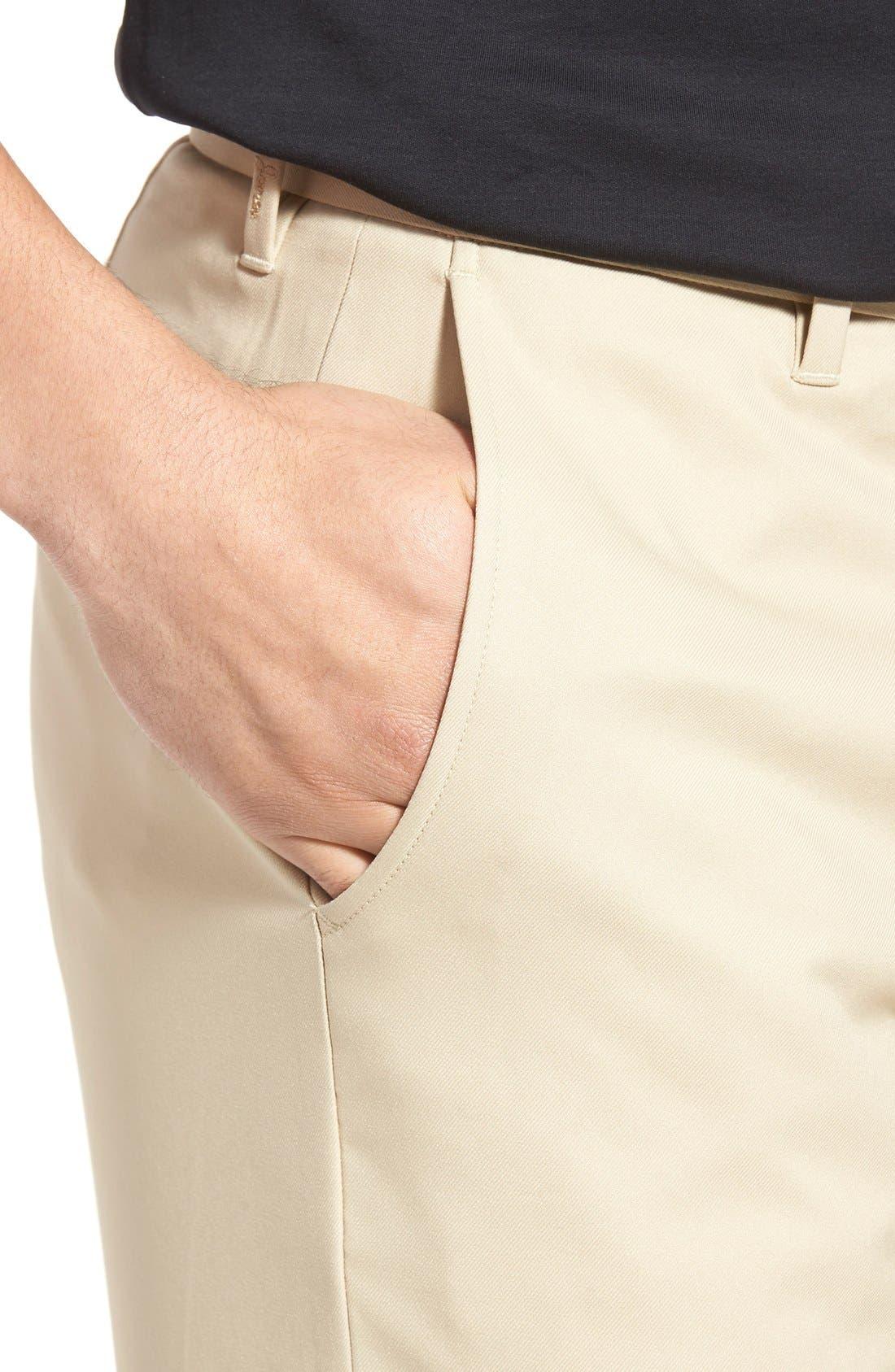 'Tech' Flat Front Wrinkle Free Golf Pants,                             Alternate thumbnail 10, color,