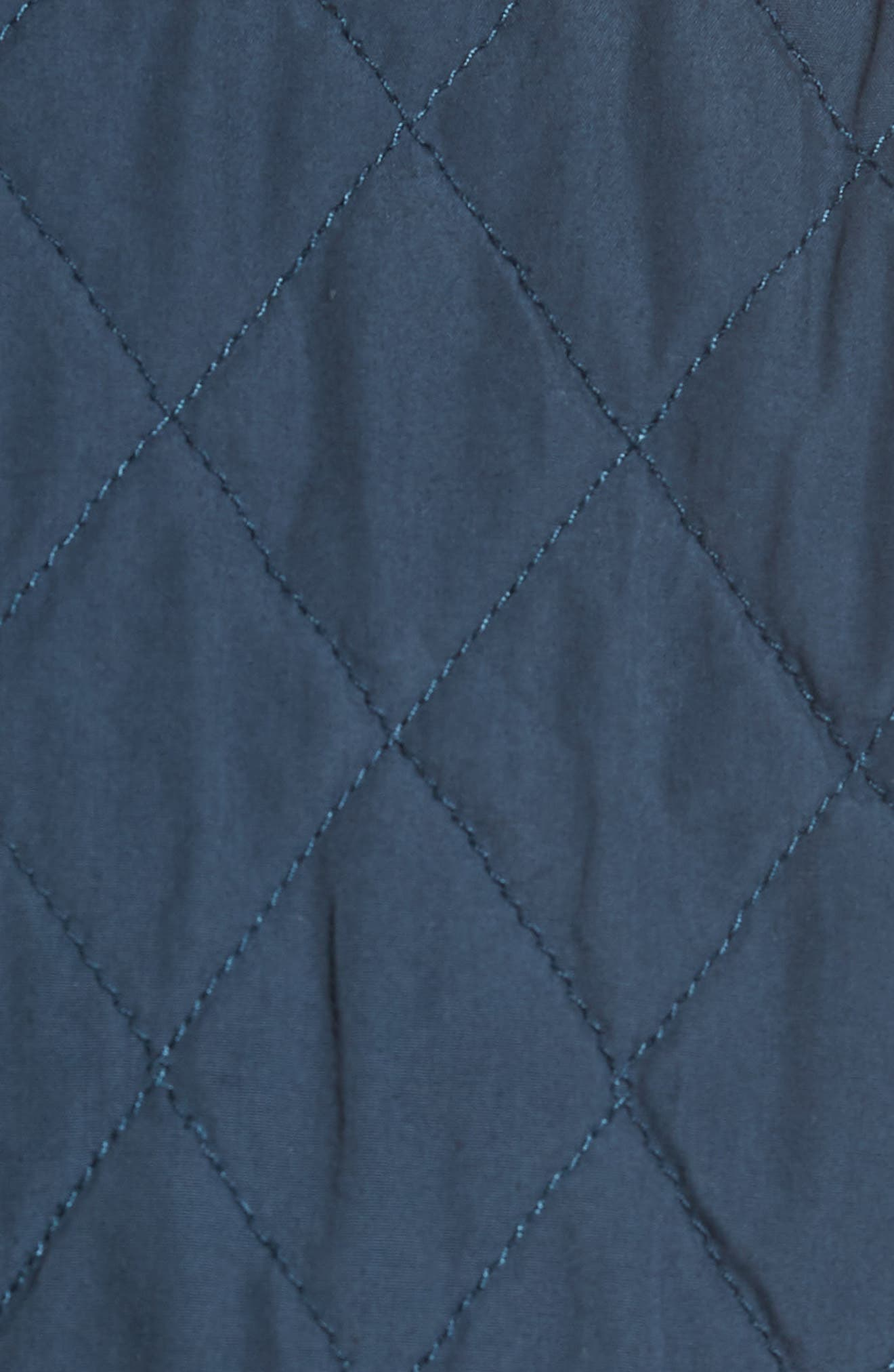 Quilted Shirt Jacket,                             Alternate thumbnail 6, color,                             STEEL