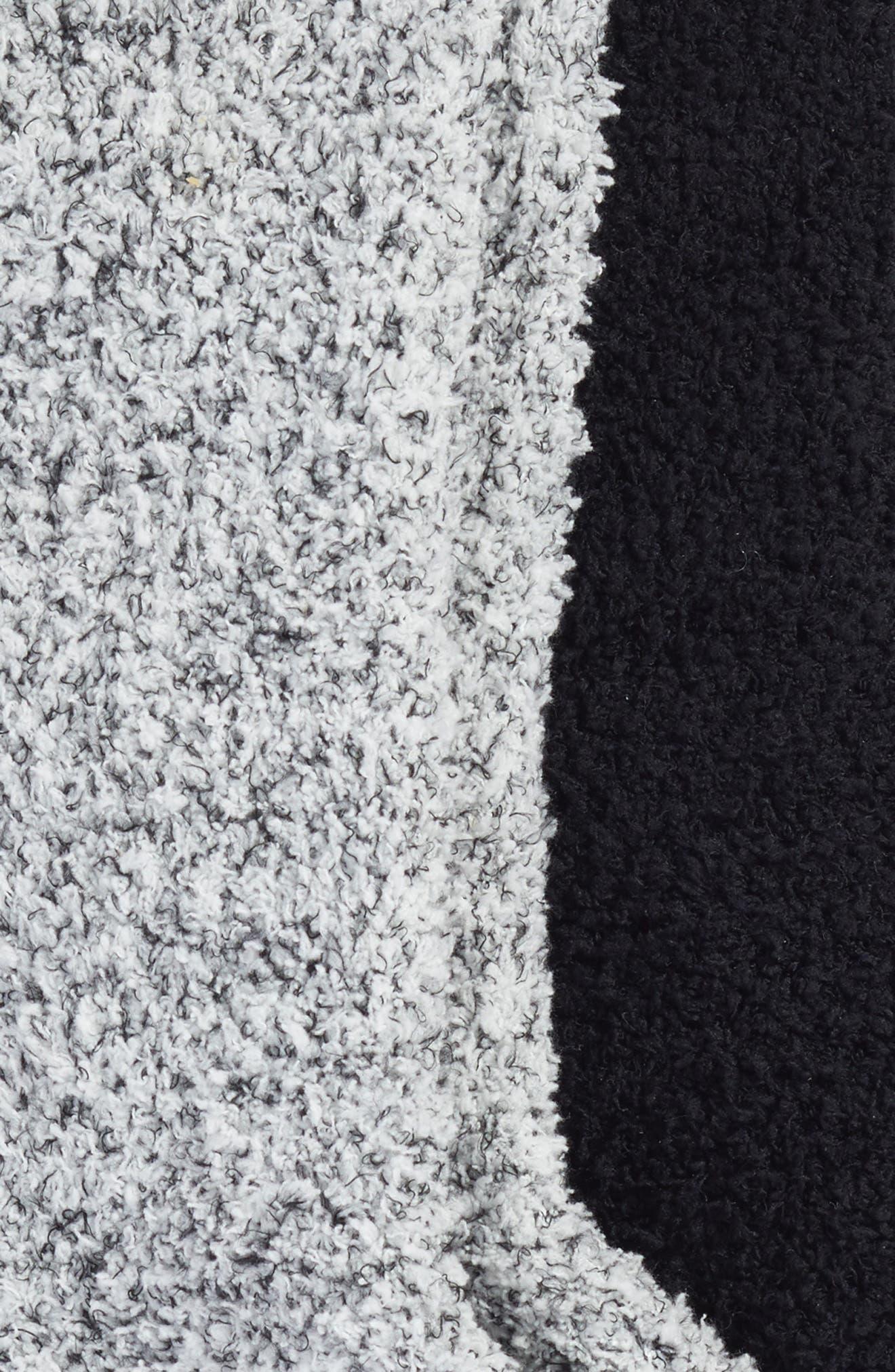 Varsity Stripe 2-Pack Plush Crew Socks,                             Alternate thumbnail 2, color,                             002