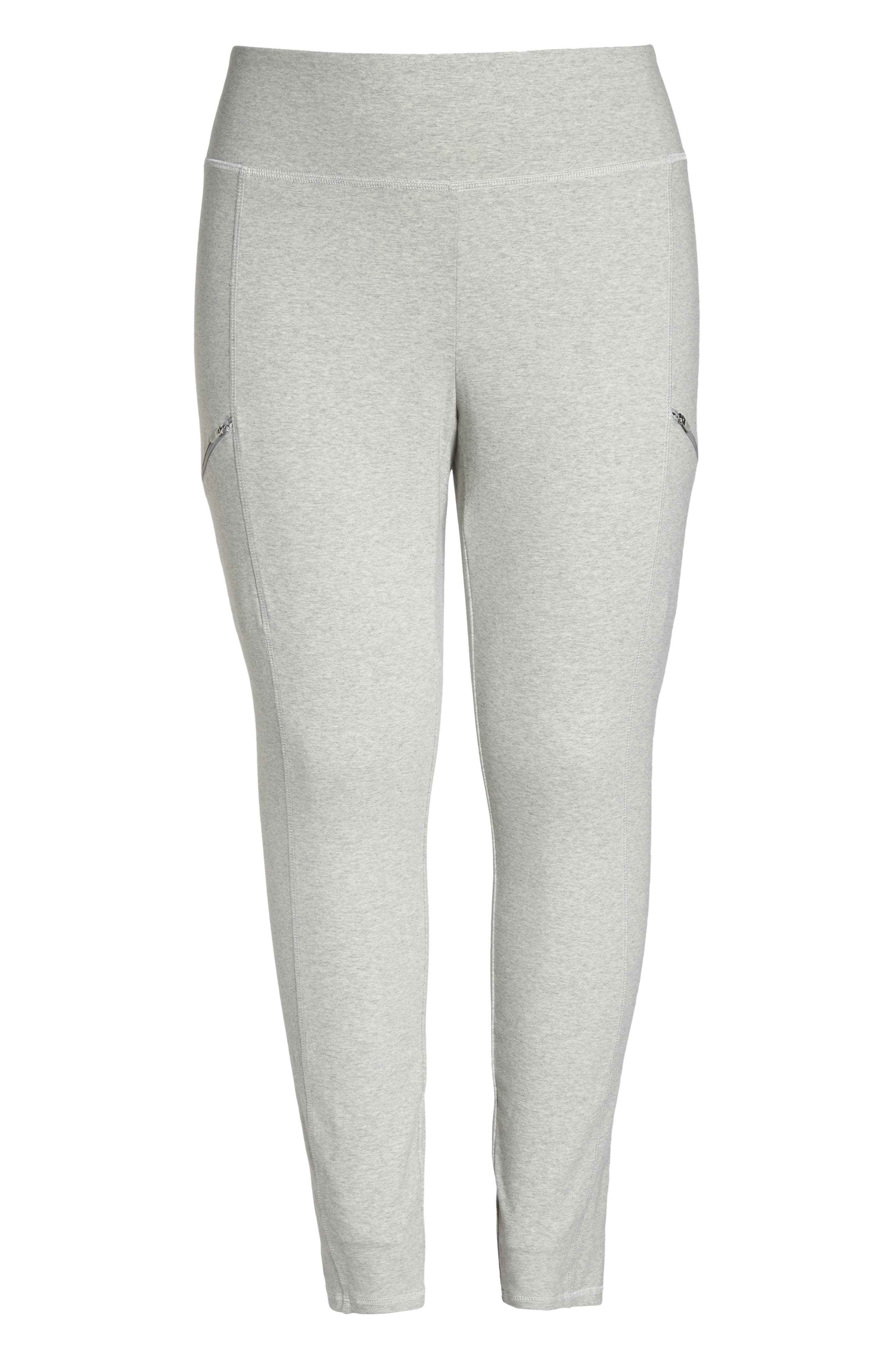 Stretch Organic Cotton Skinny Pants,                             Alternate thumbnail 7, color,                             020