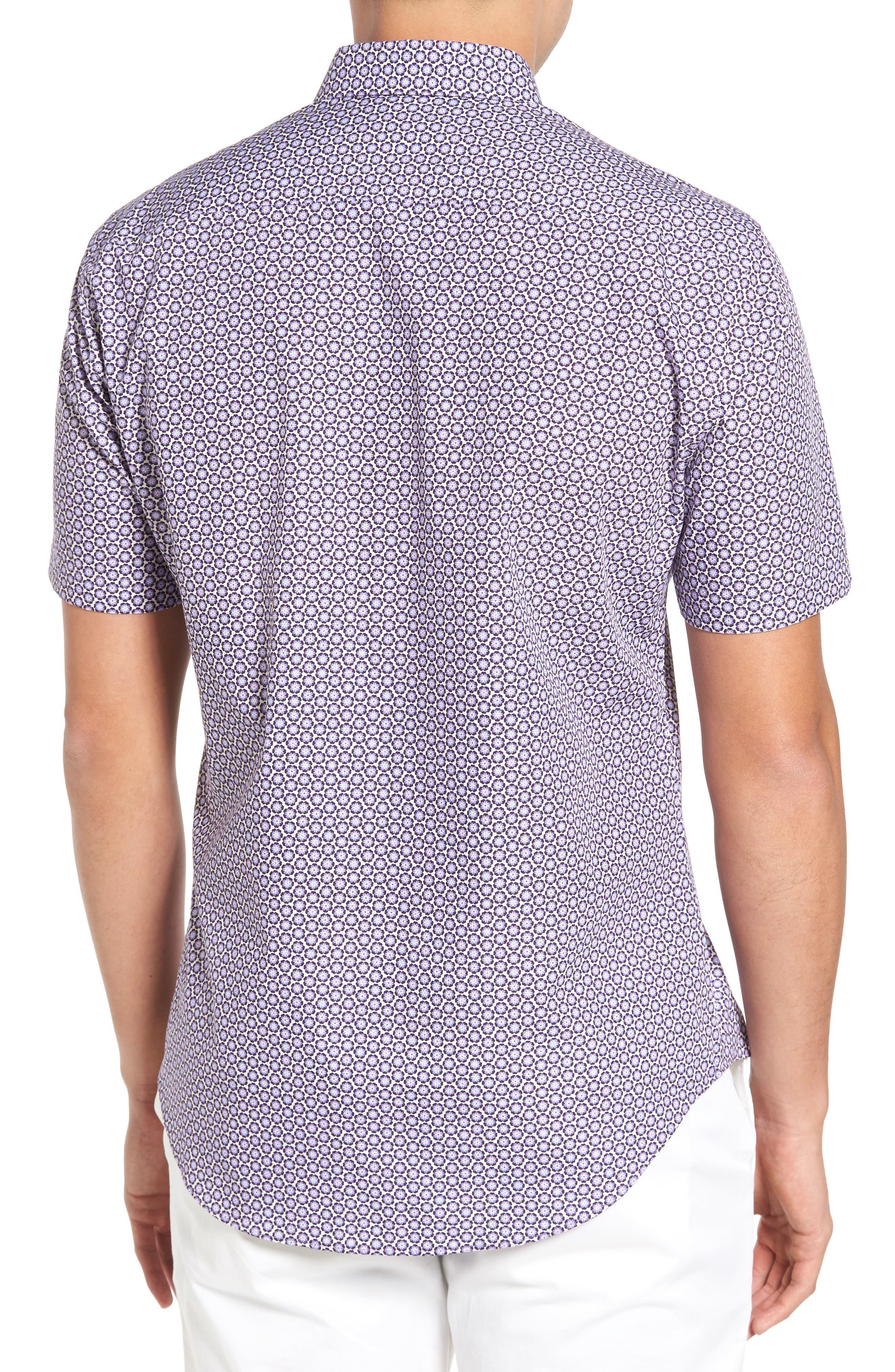 Werito Print Sport Shirt,                             Alternate thumbnail 2, color,