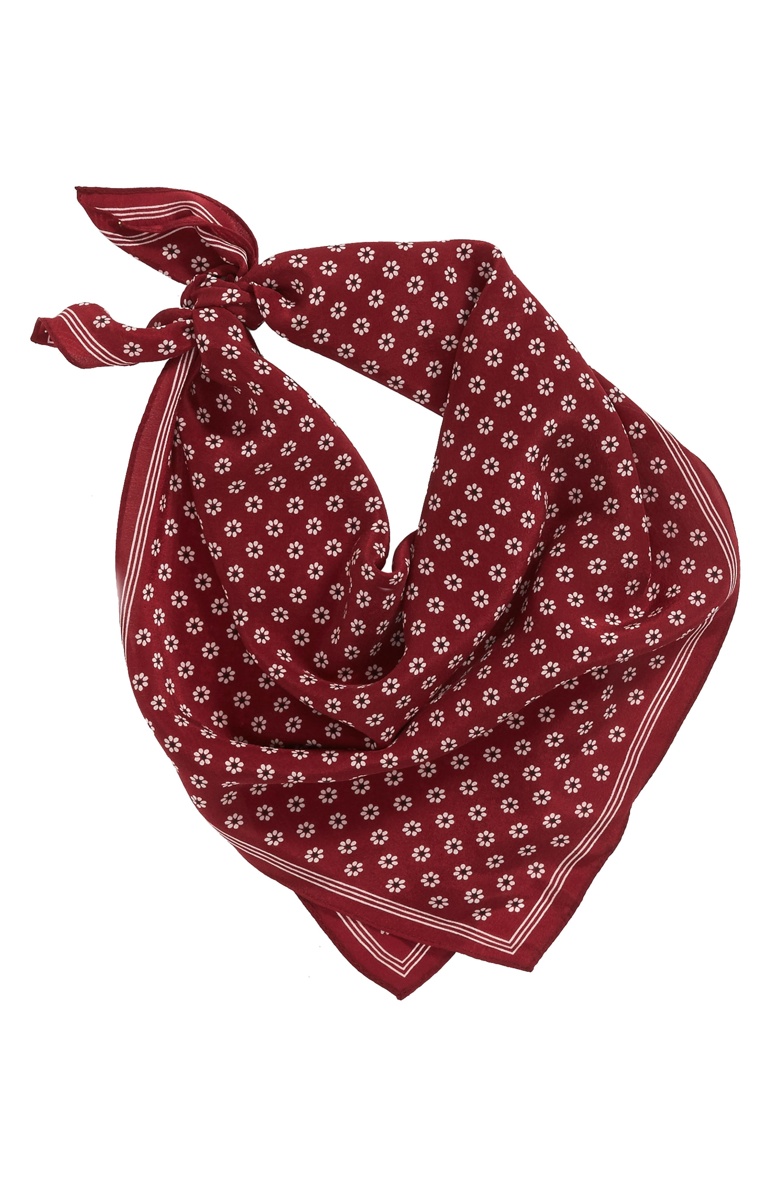 Silk Bandana,                             Alternate thumbnail 18, color,