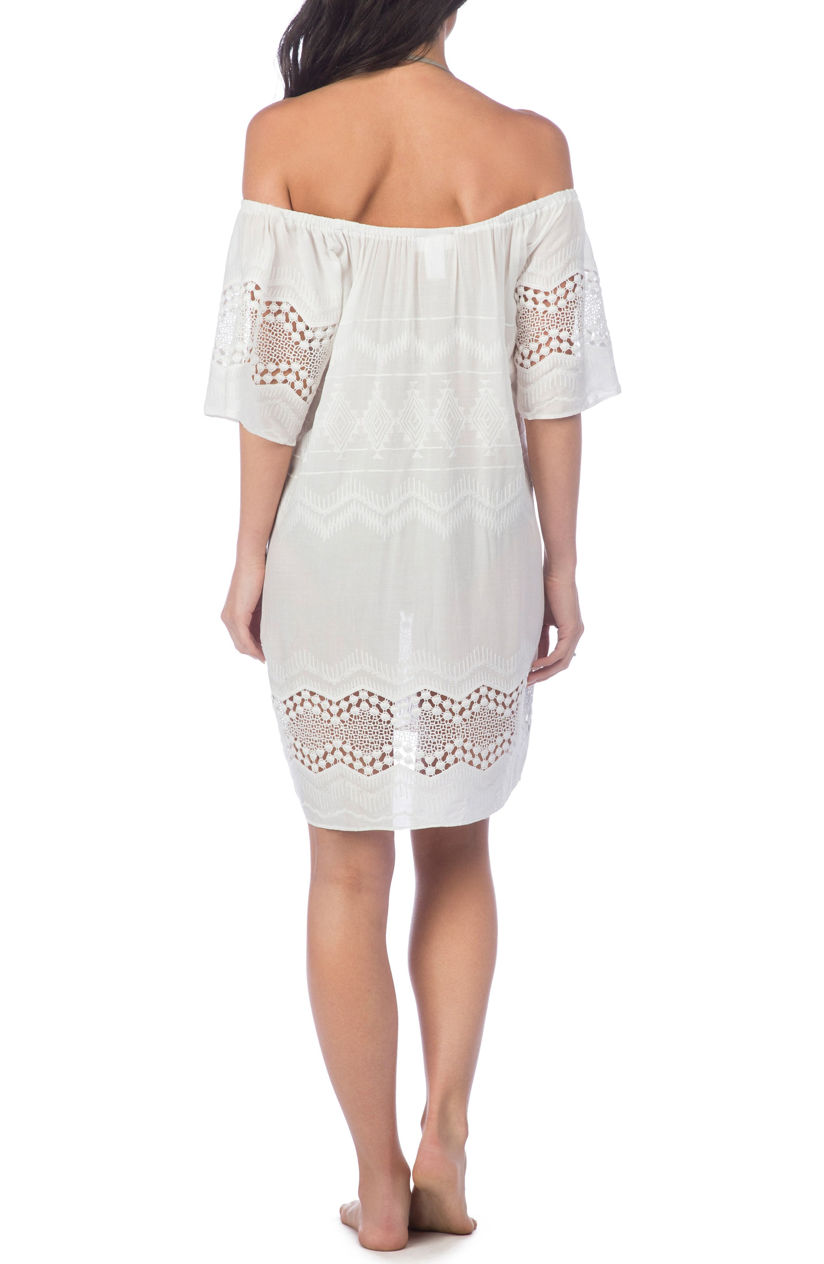 Cover-Up Dress,                             Alternate thumbnail 2, color,                             100