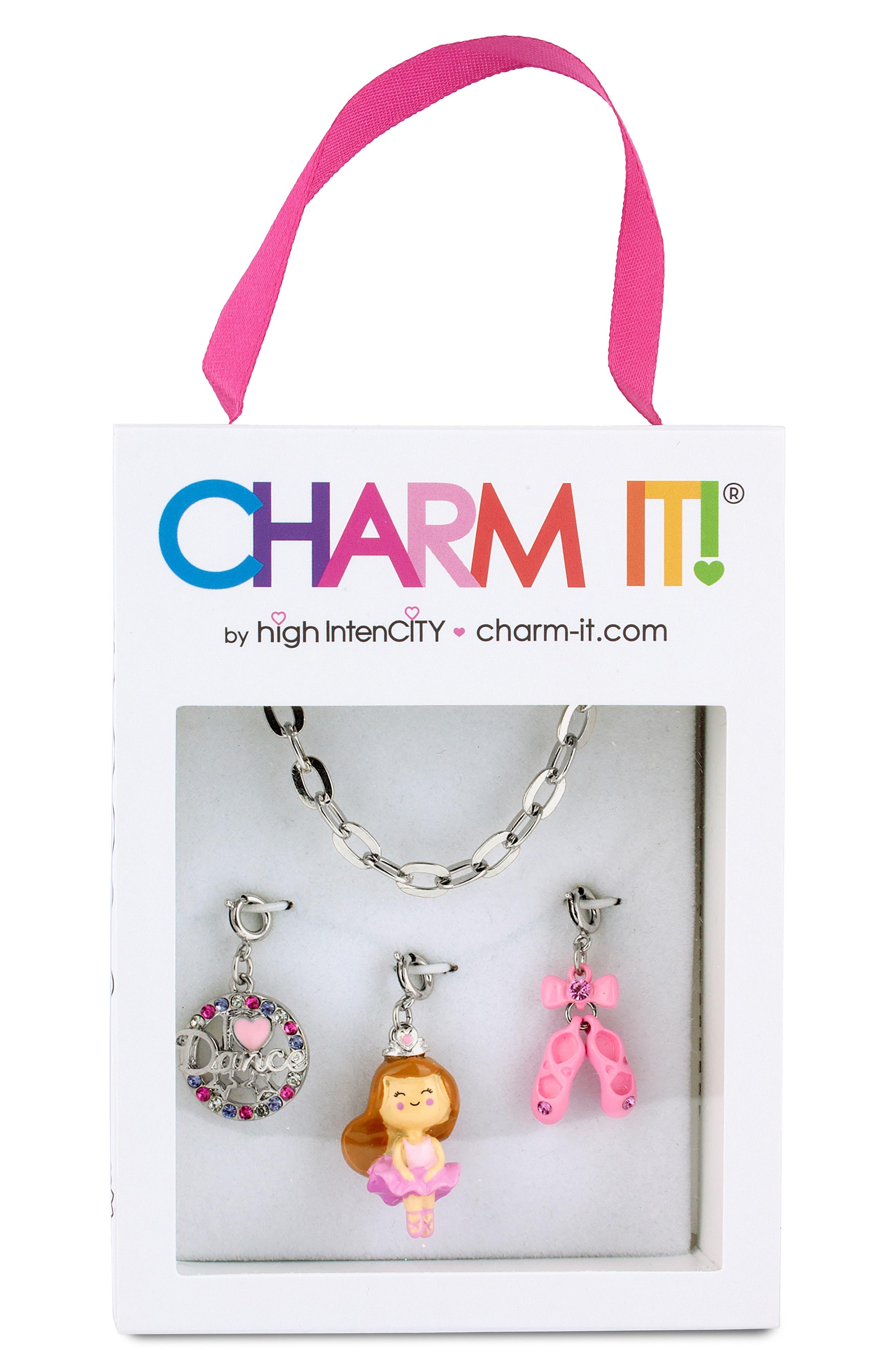 Girls Charm It Ballet Charm Bracelet Gift Set