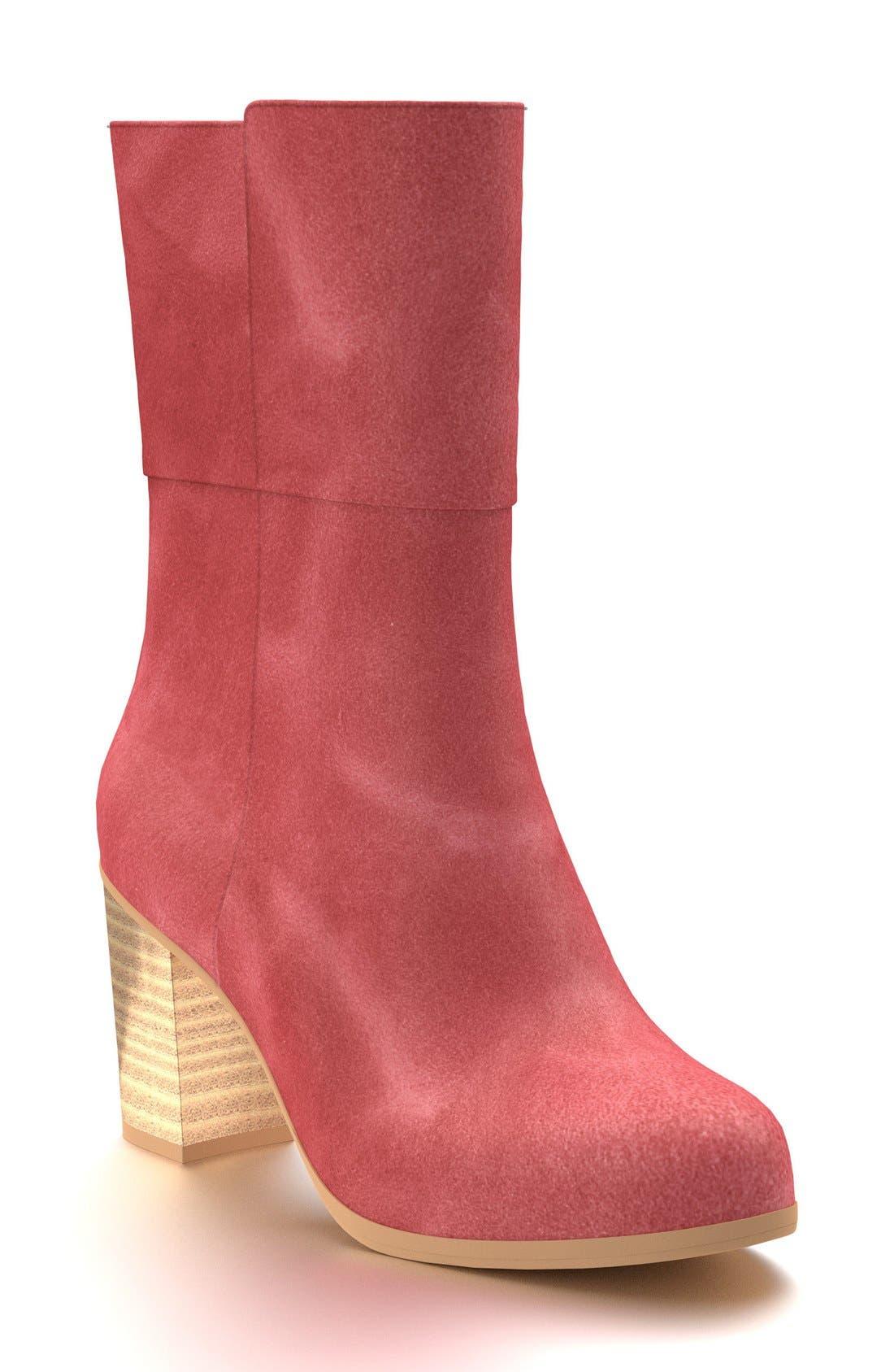 Block Heel Boot,                             Main thumbnail 11, color,