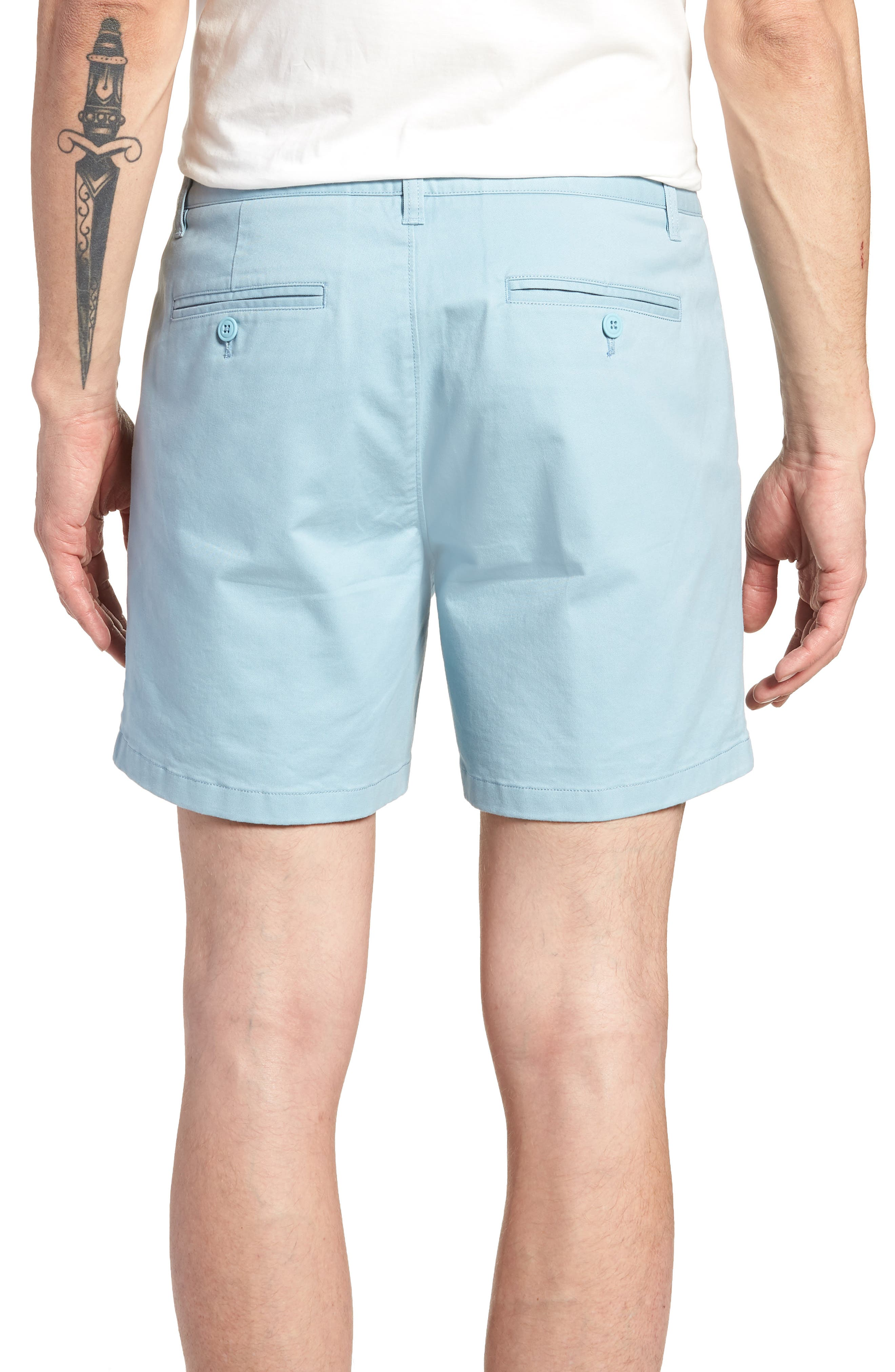 Stretch Washed Chino 5-Inch Shorts,                             Alternate thumbnail 41, color,