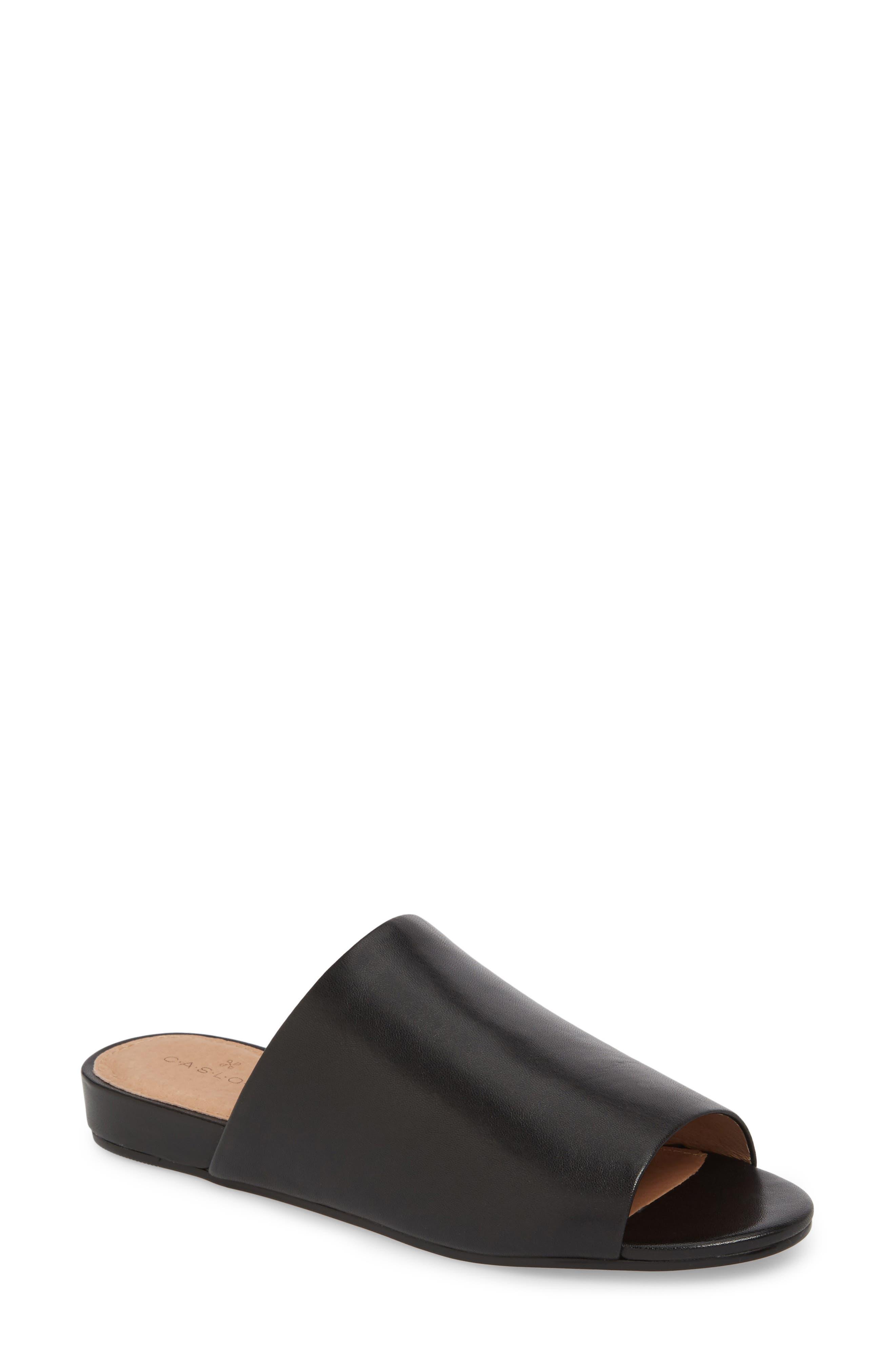 Kiana Slide Sandal,                             Main thumbnail 1, color,                             001