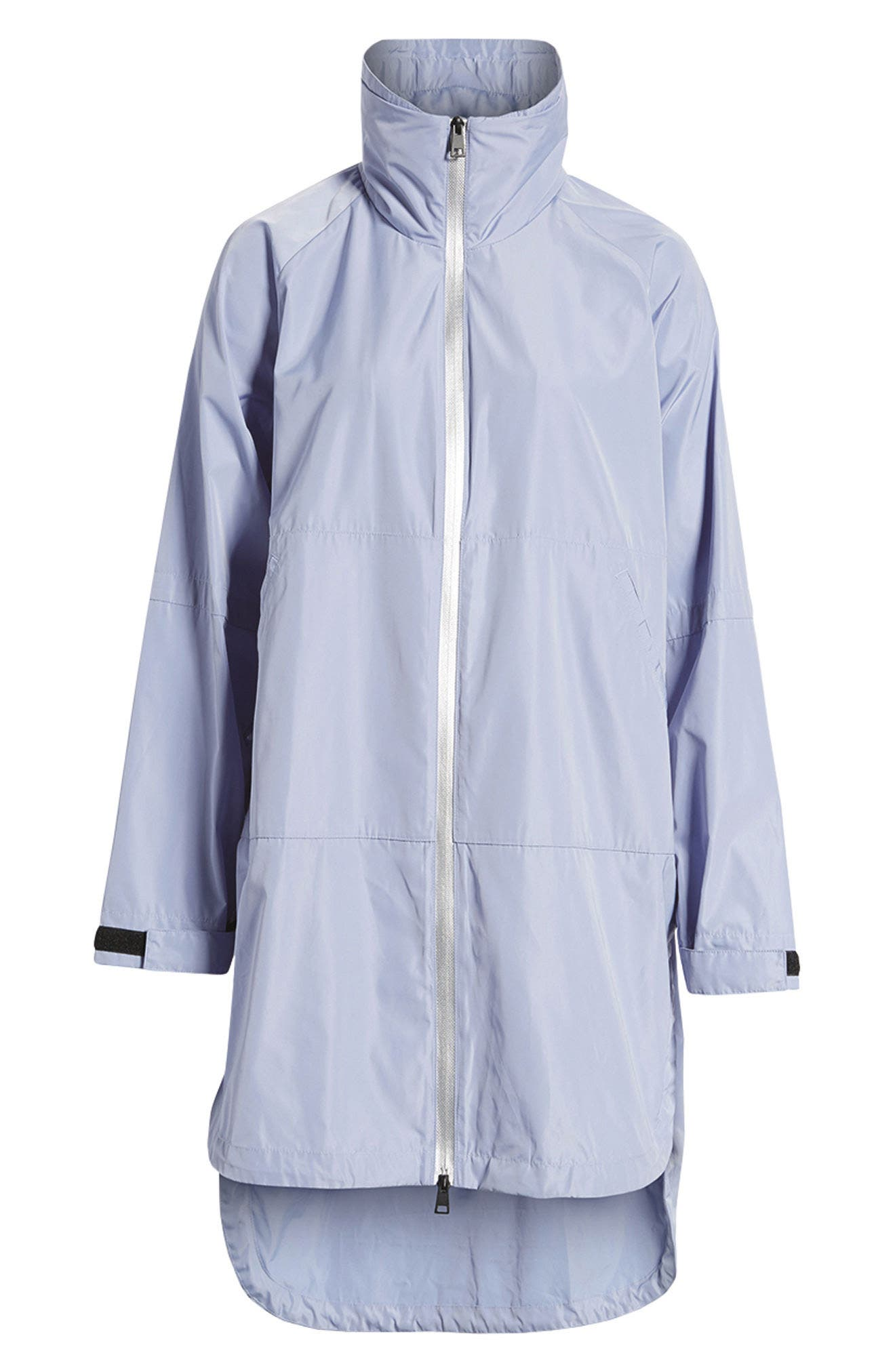 Poly-Luxe Packable Oversize Jacket,                             Alternate thumbnail 7, color,                             020