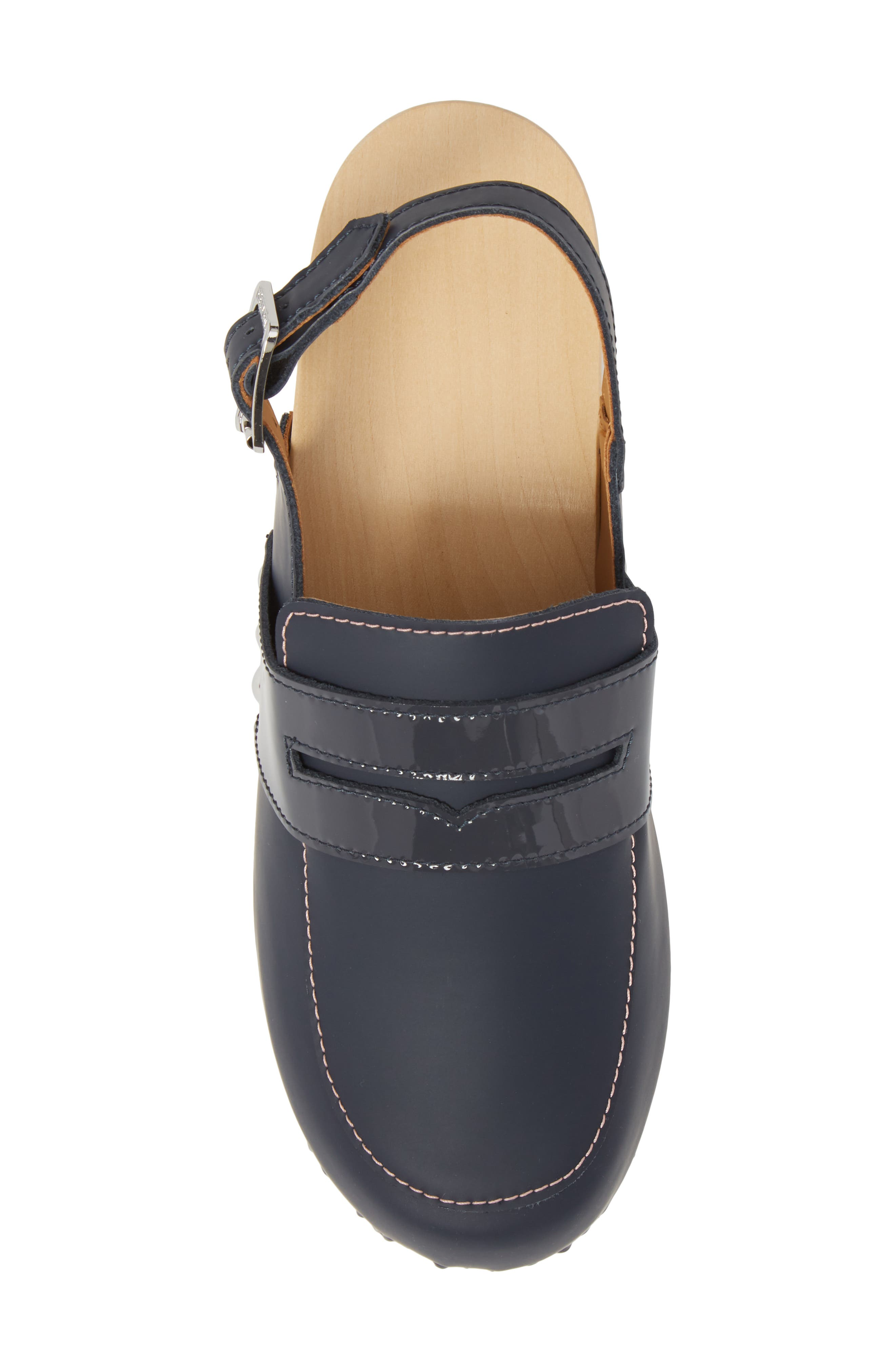 Refined Penny Loafer Clog,                             Alternate thumbnail 5, color,                             410