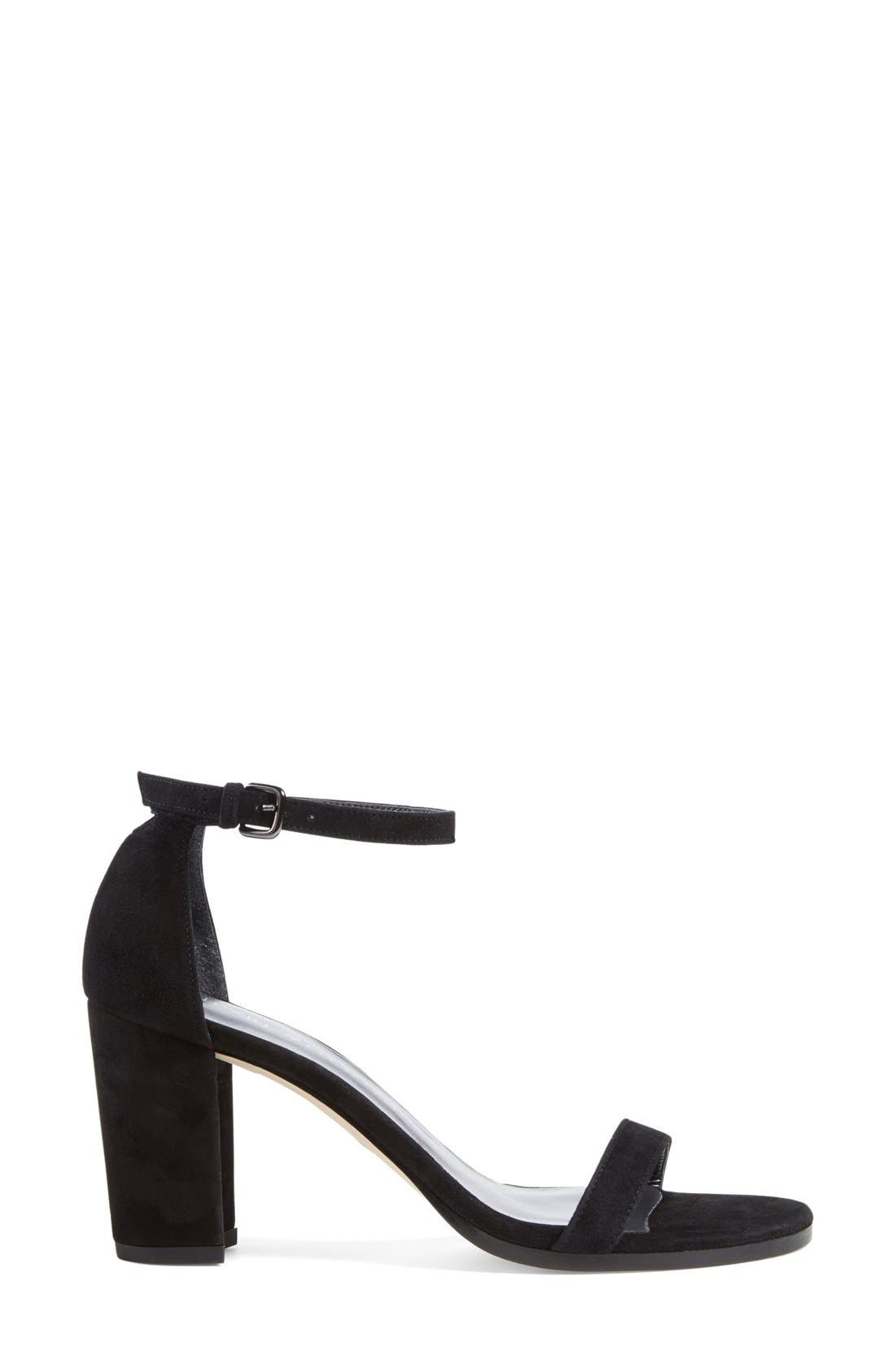NearlyNude Ankle Strap Sandal,                             Alternate thumbnail 37, color,