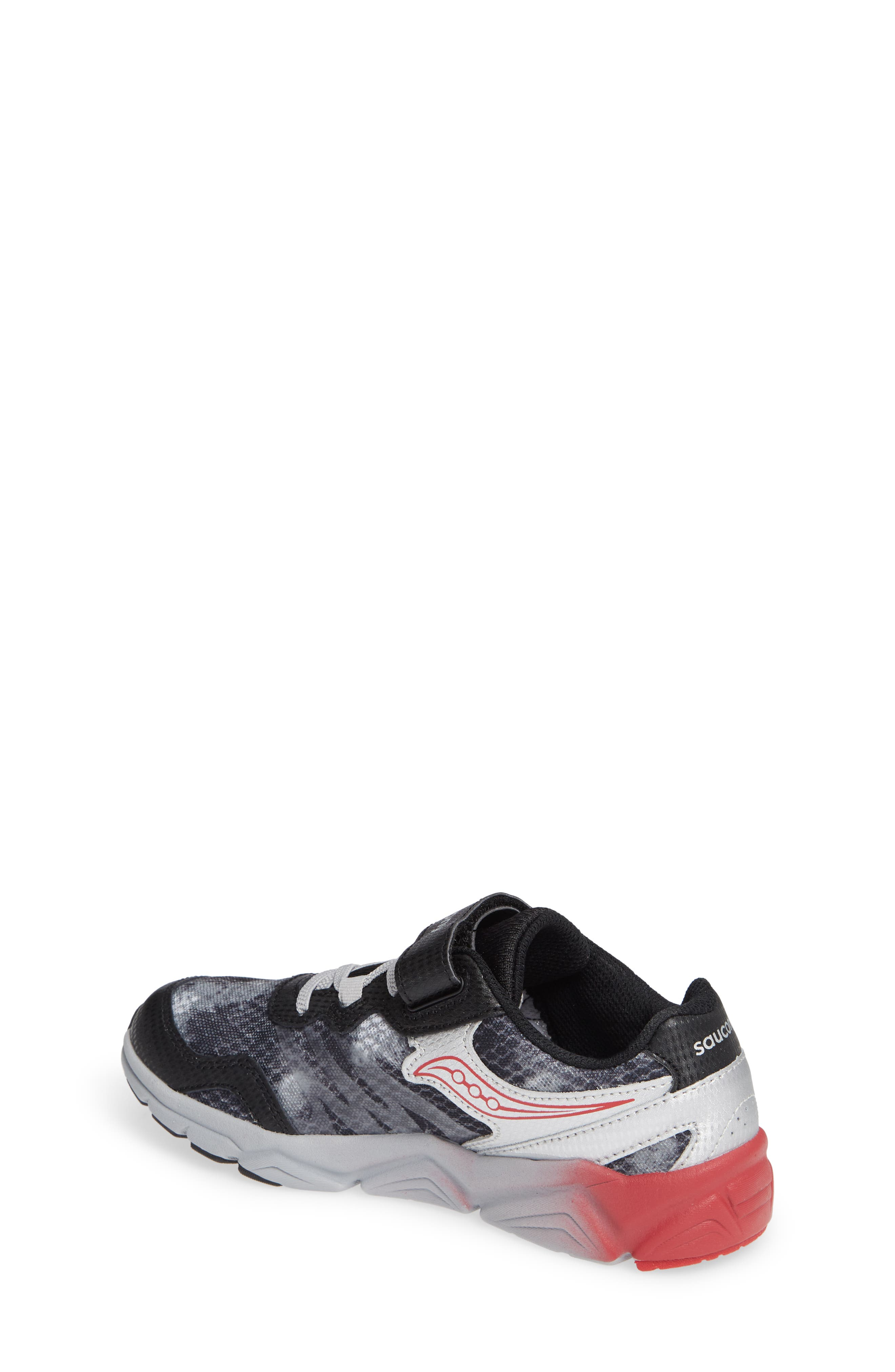 Kotaro Flash Sneaker,                             Alternate thumbnail 2, color,                             BLACK LEATHER/ MESH