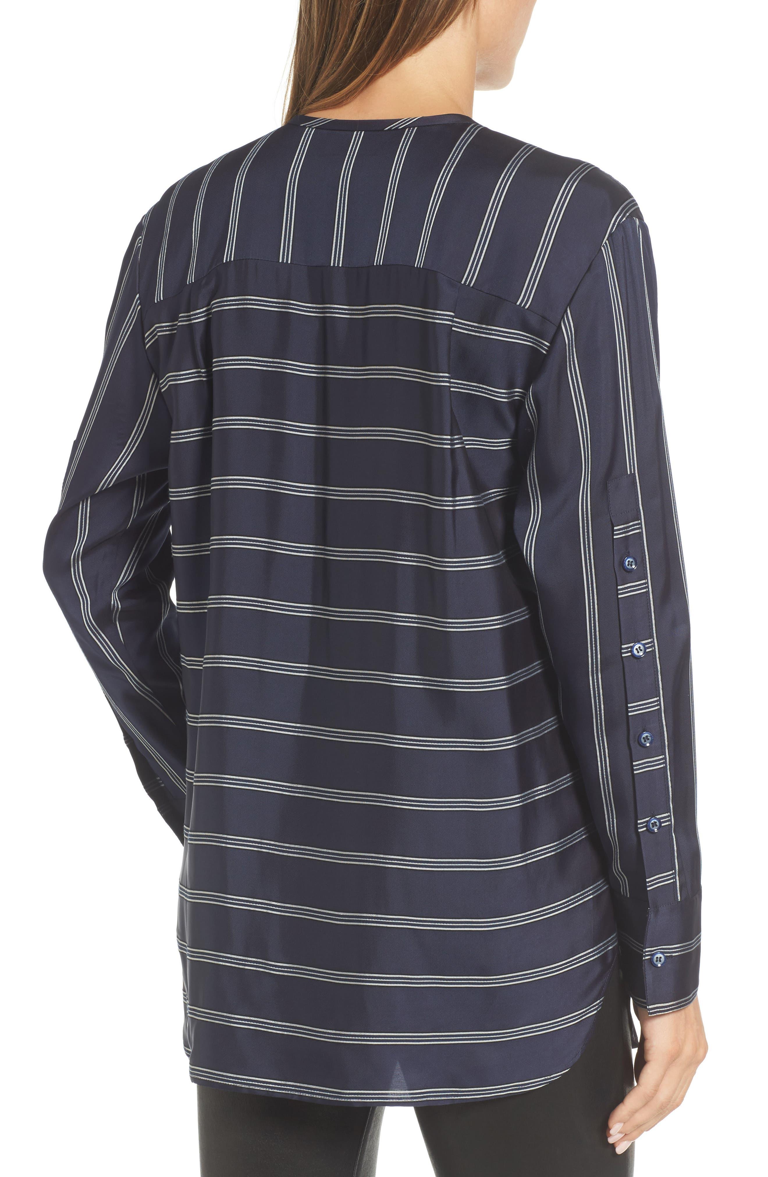 Striped Patch Pocket Shirt,                             Alternate thumbnail 2, color,                             410