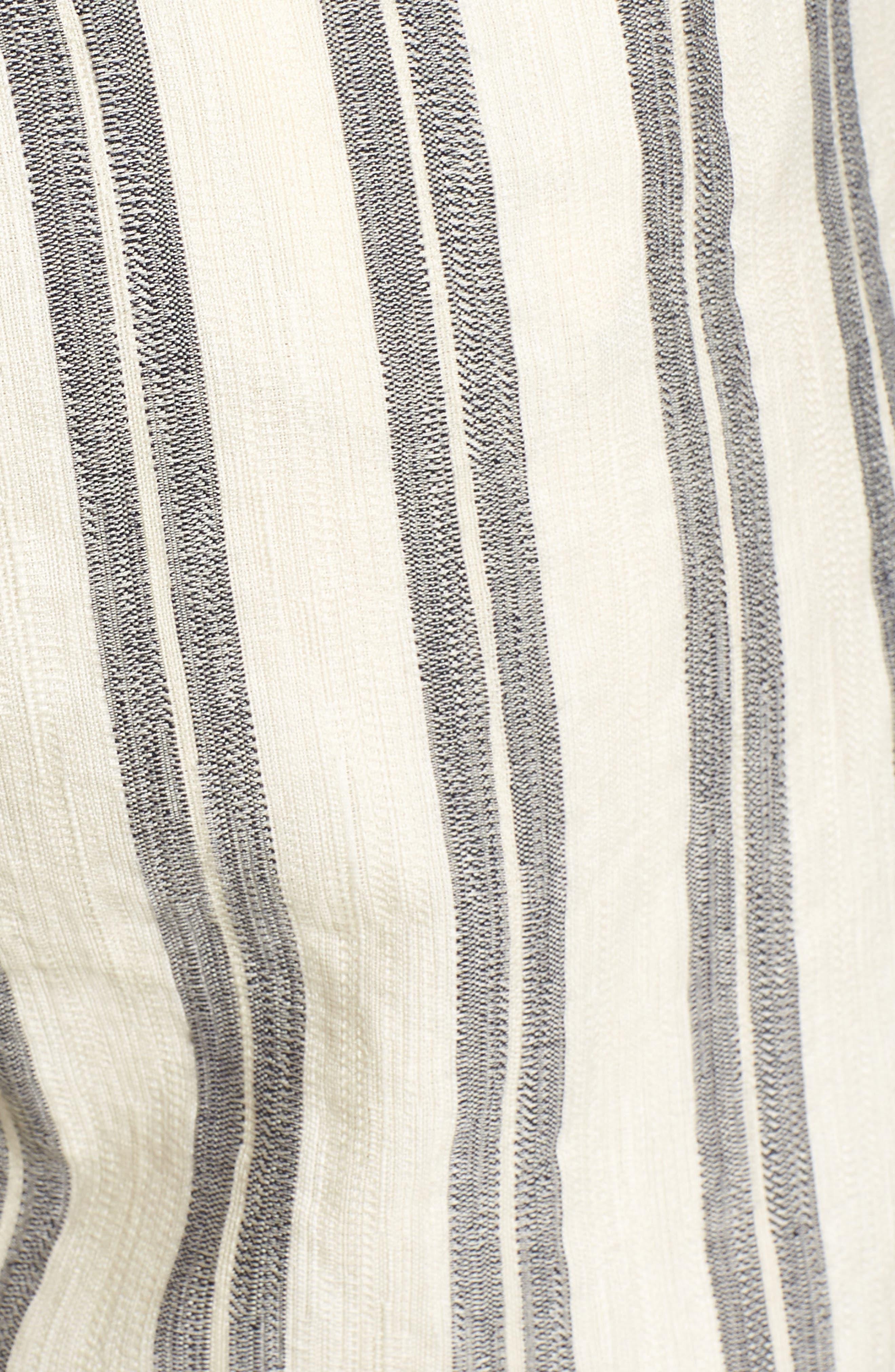 REBECCA MINKOFF,                             Marley Stripe Jumpsuit,                             Alternate thumbnail 6, color,                             102