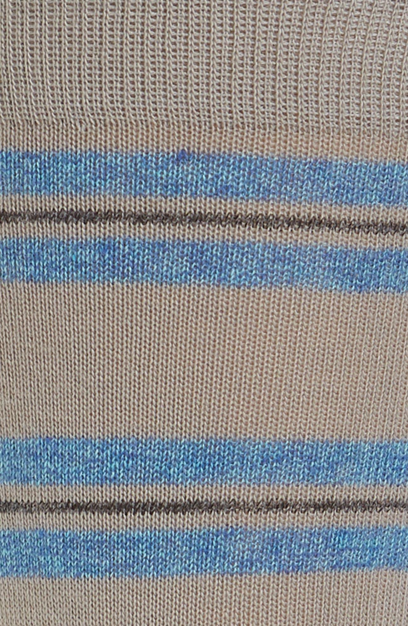 Genova Striped Socks,                             Alternate thumbnail 2, color,                             020