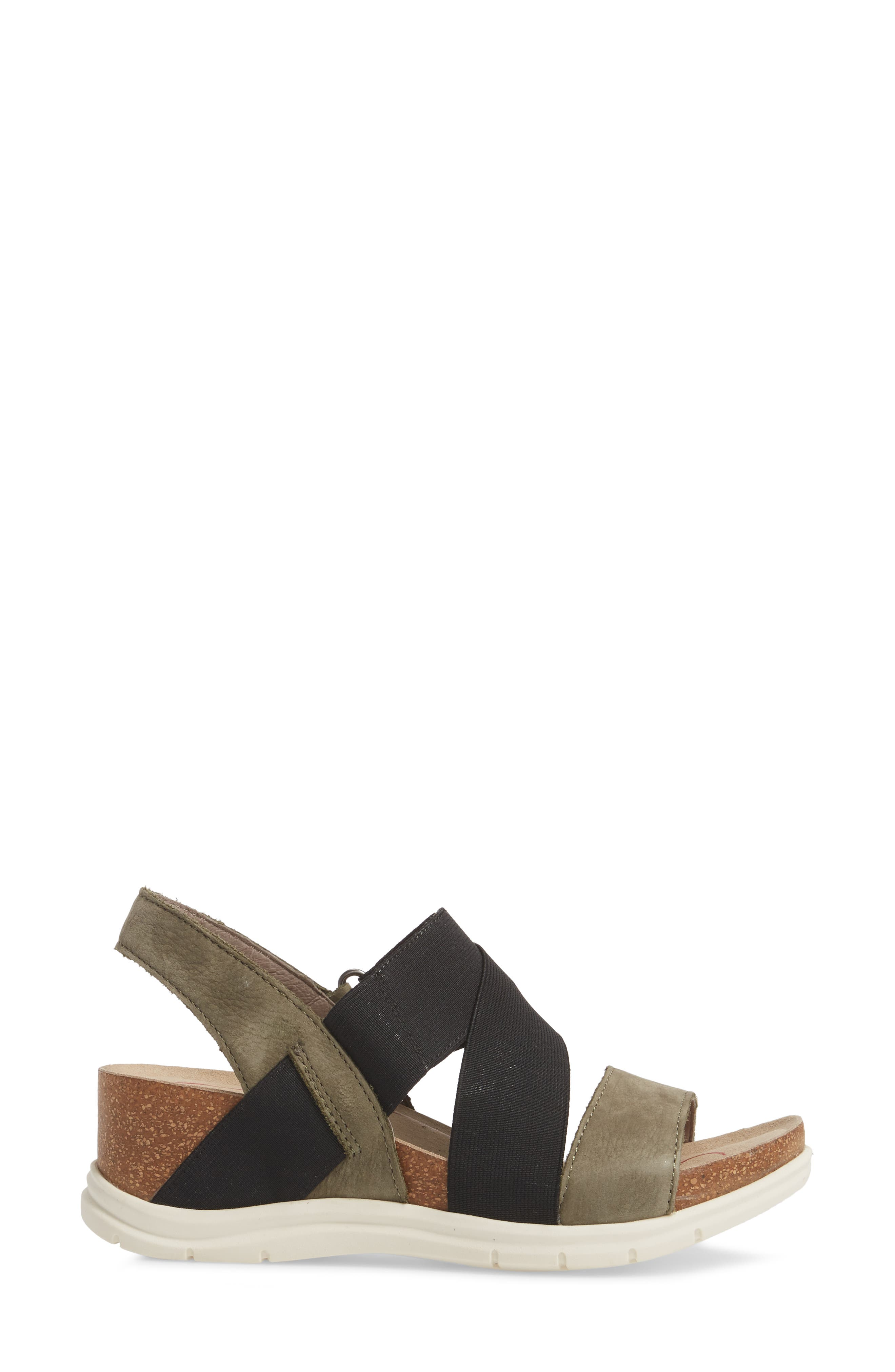 Paisley Wedge Sandal,                             Alternate thumbnail 11, color,