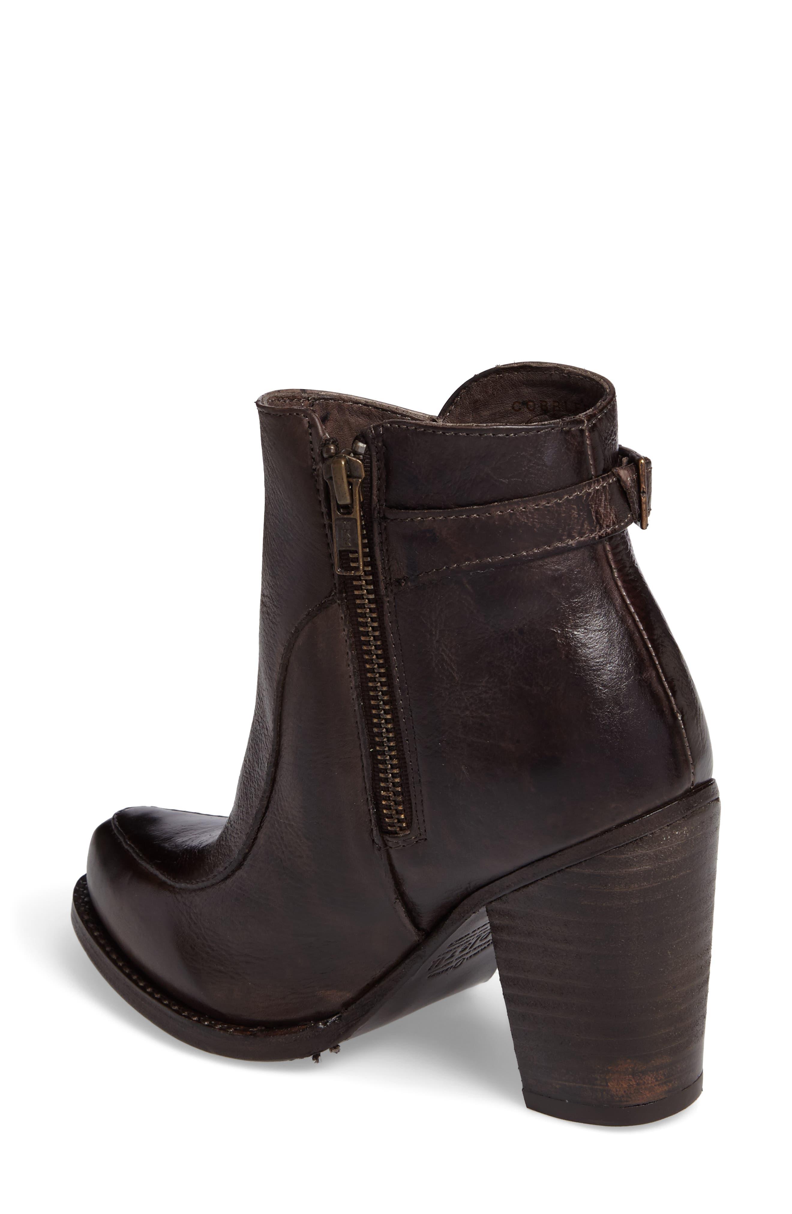 'Isla' Stacked Heel Boot,                             Alternate thumbnail 2, color,                             201