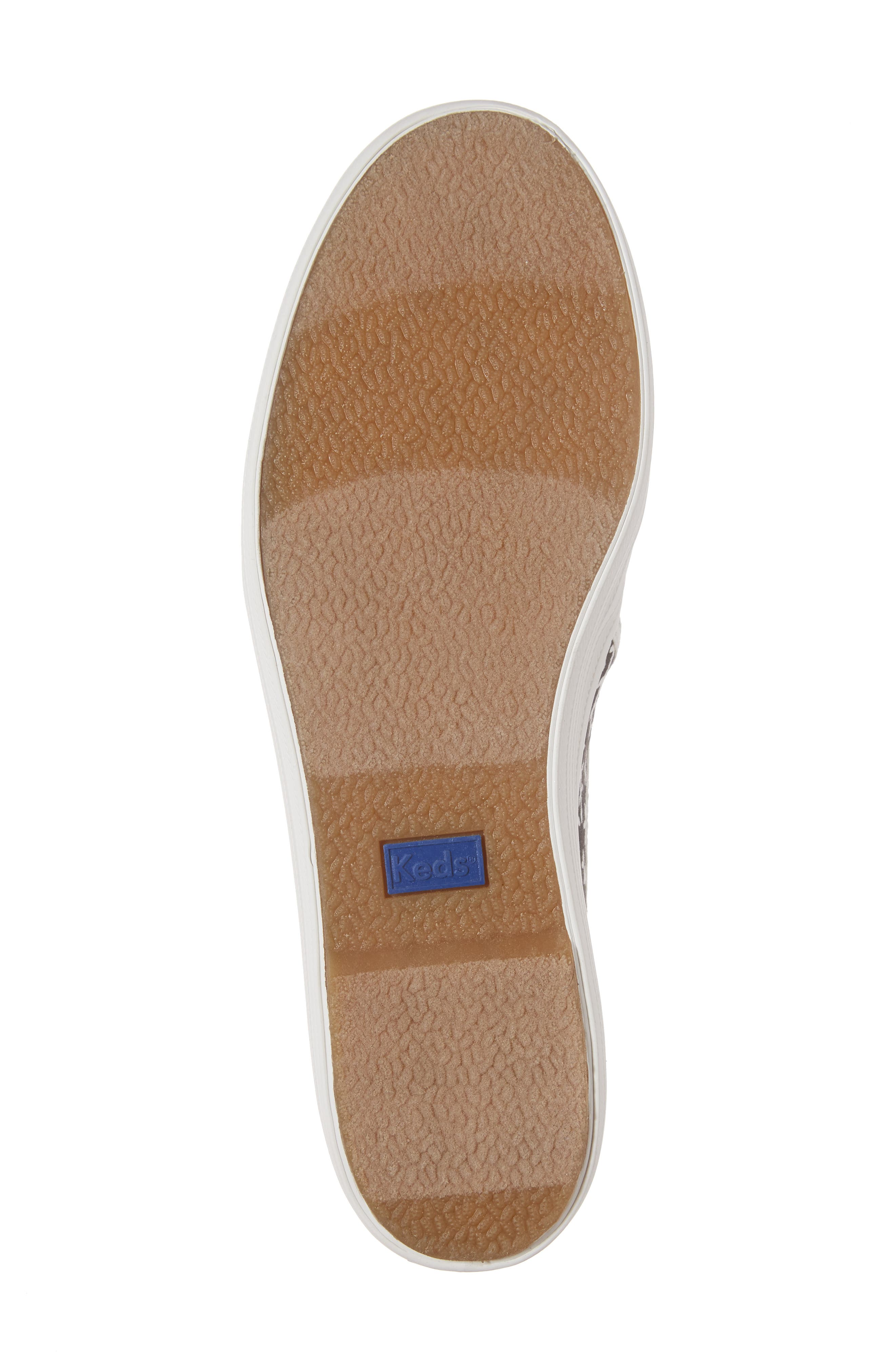 Keds<sup>®</sup> x kate spade Triple Decker Slip-On Sneaker,                             Alternate thumbnail 11, color,