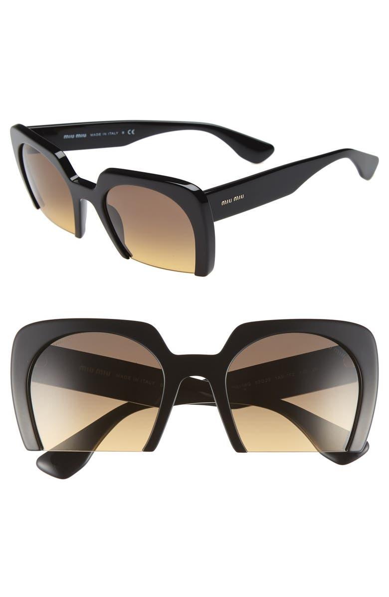 45b0ed3f53 Miu Miu 53mm Sunglasses