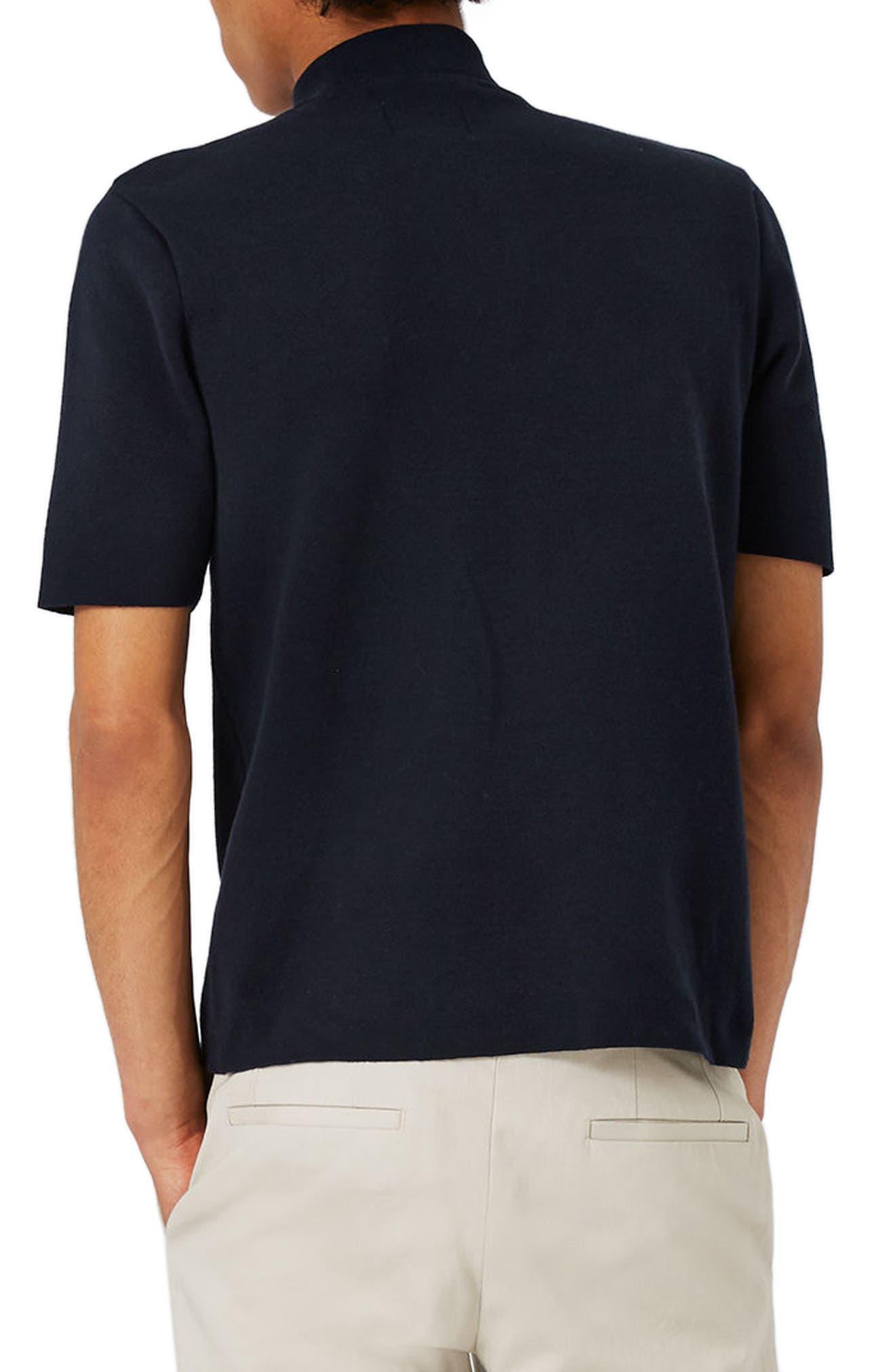 Quarter Zip Mock Neck Sweater,                             Alternate thumbnail 2, color,                             401