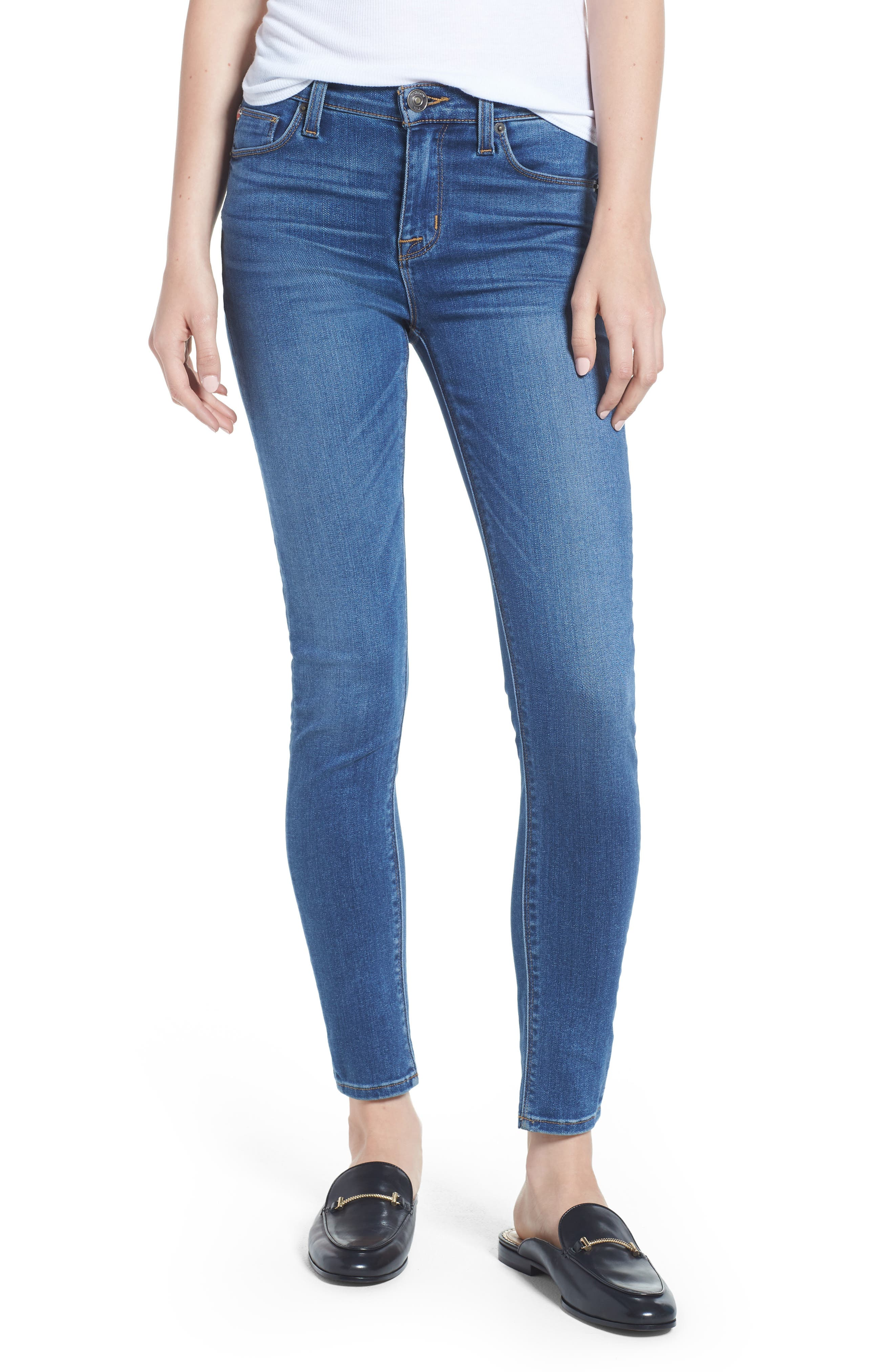 'Nico' Ankle Skinny Jeans,                             Alternate thumbnail 10, color,