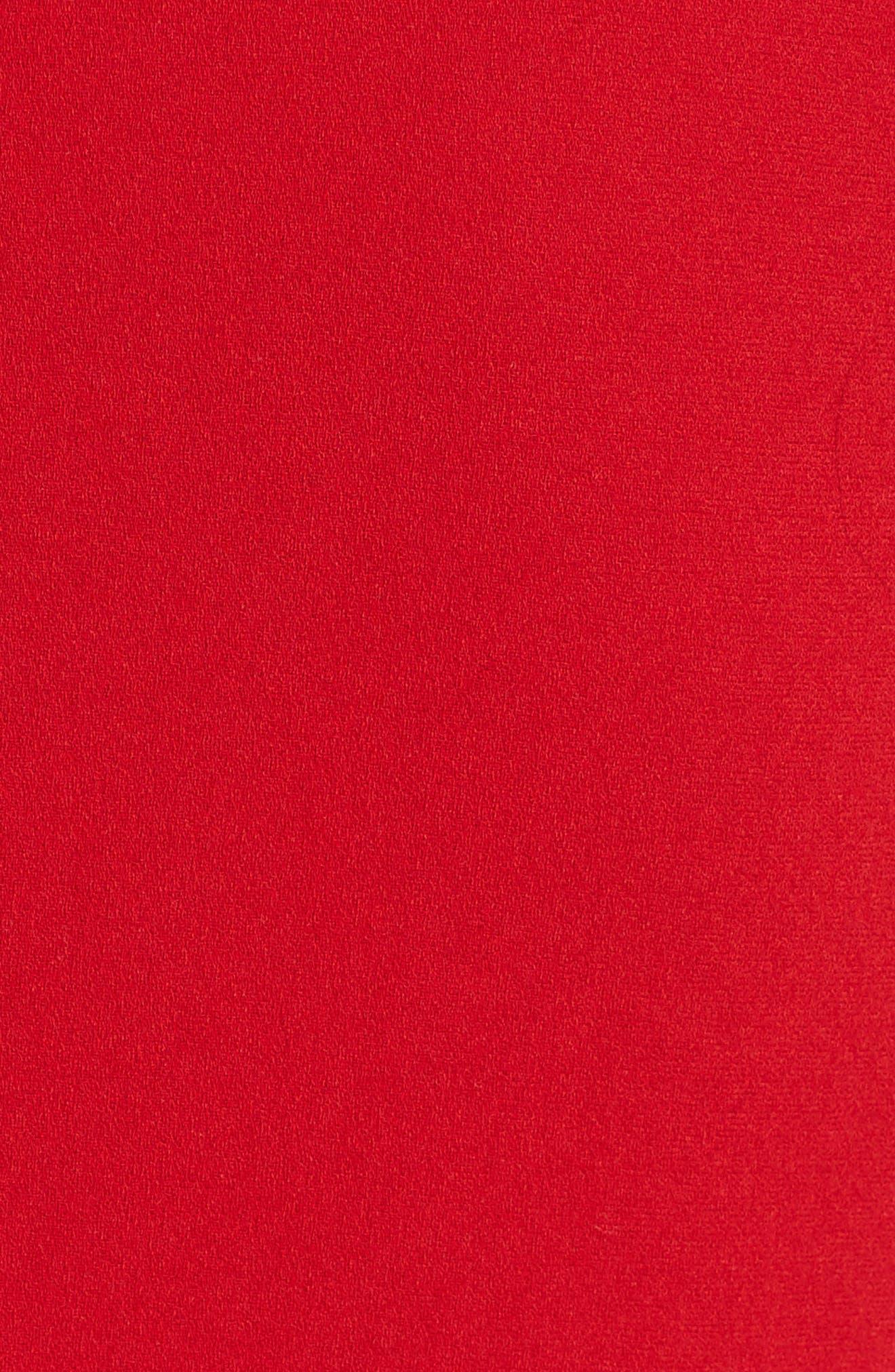 Crepe Minidress,                             Alternate thumbnail 5, color,                             600