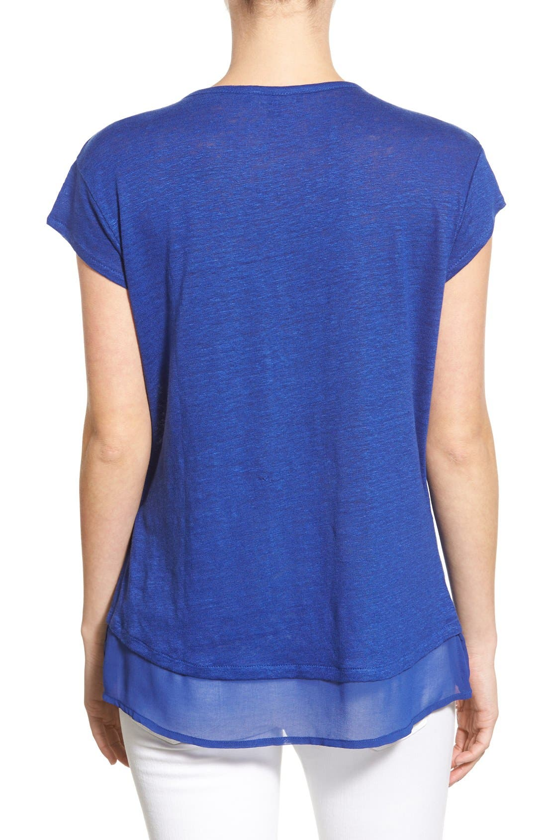 City Mix Layered Look Tee,                             Alternate thumbnail 58, color,